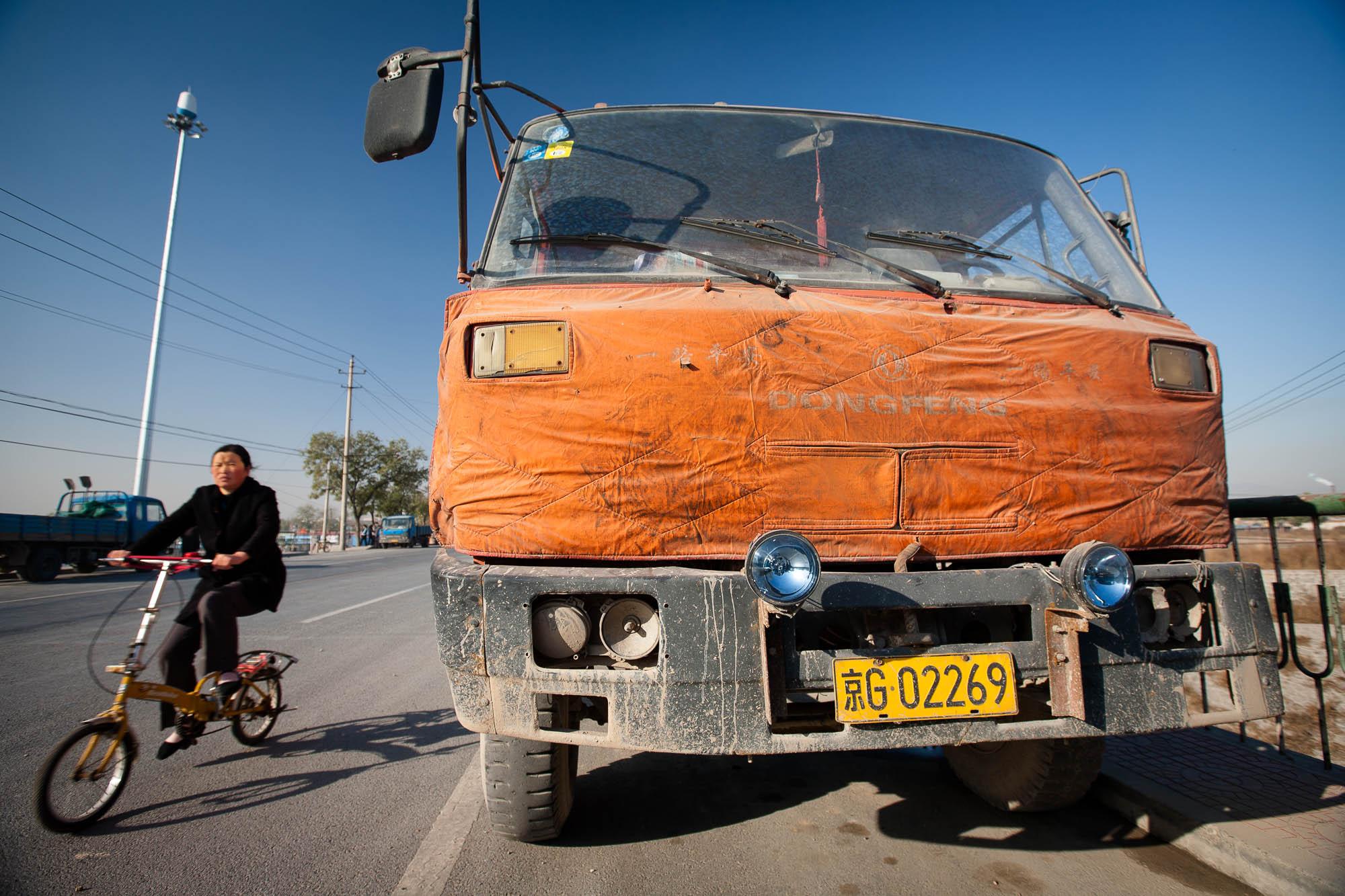 truck near Lugouqiao