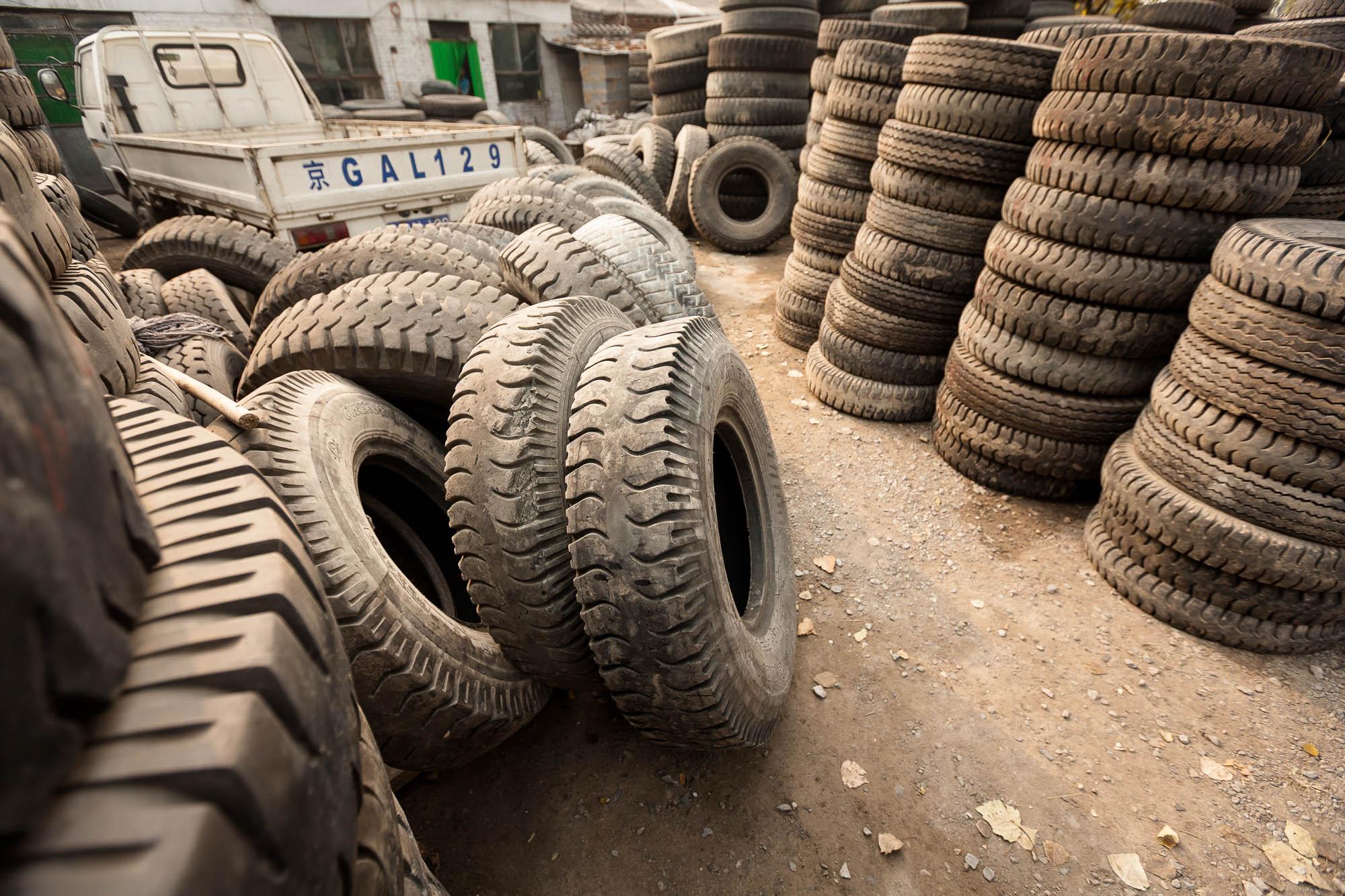 tire yard