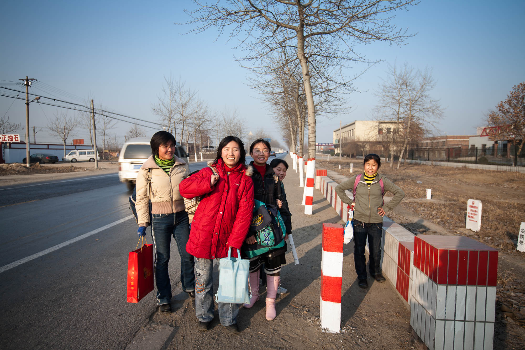 students near Zhengding