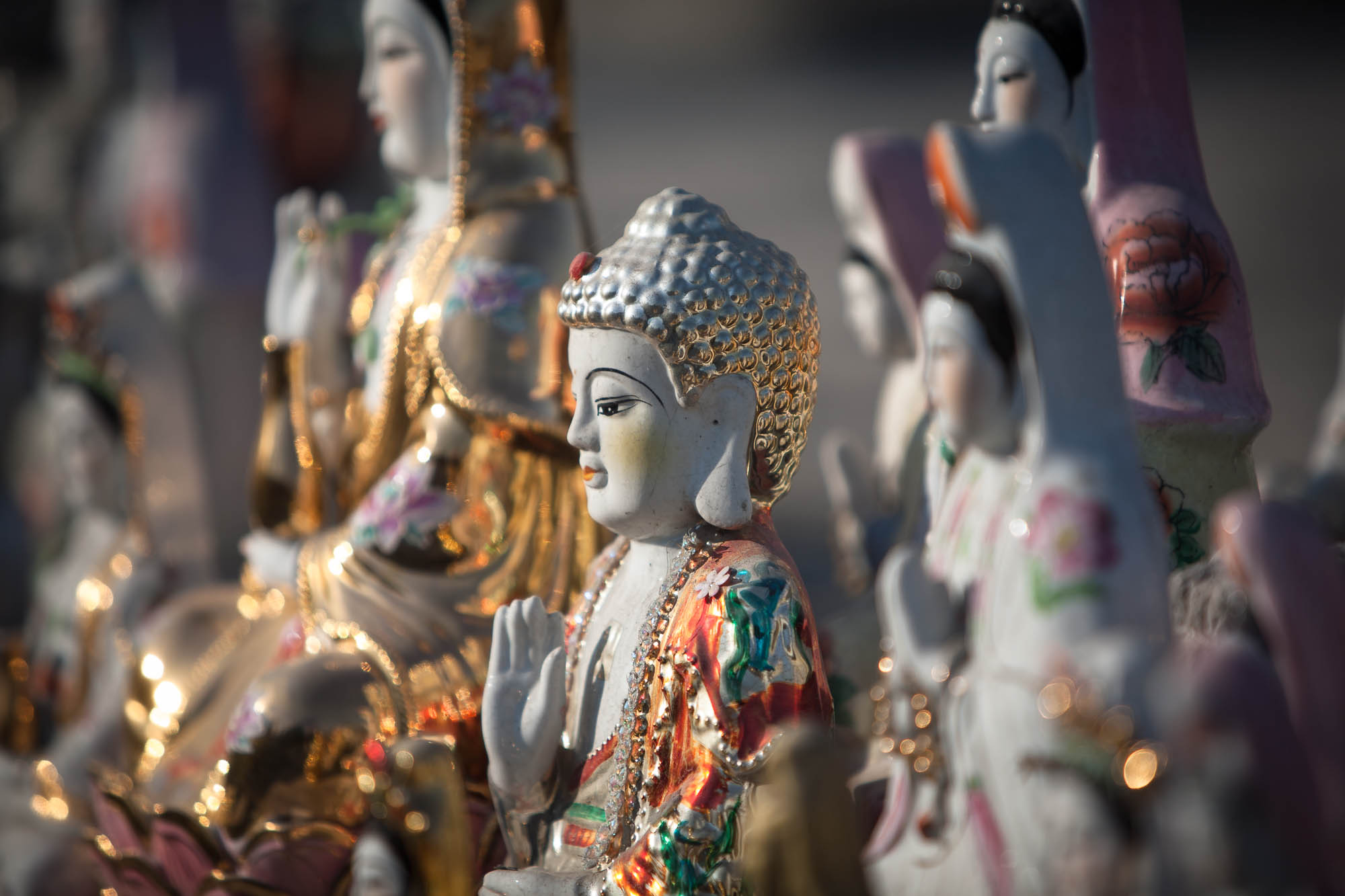 Buddhist figurines