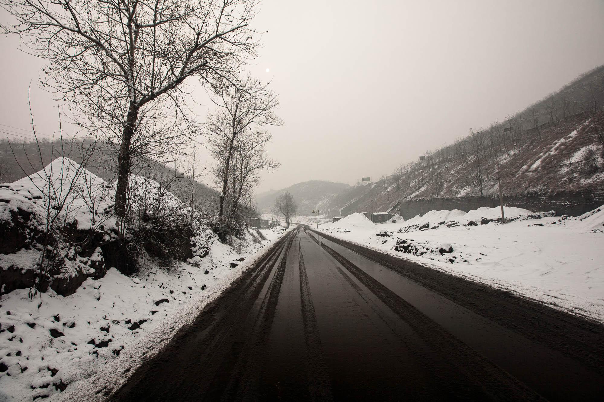 snow in Shanxi