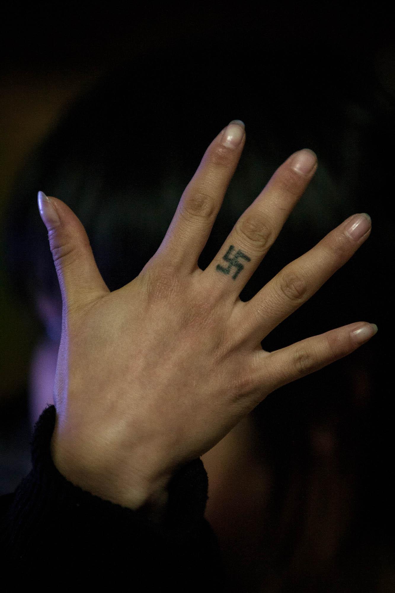 swastika tattoo