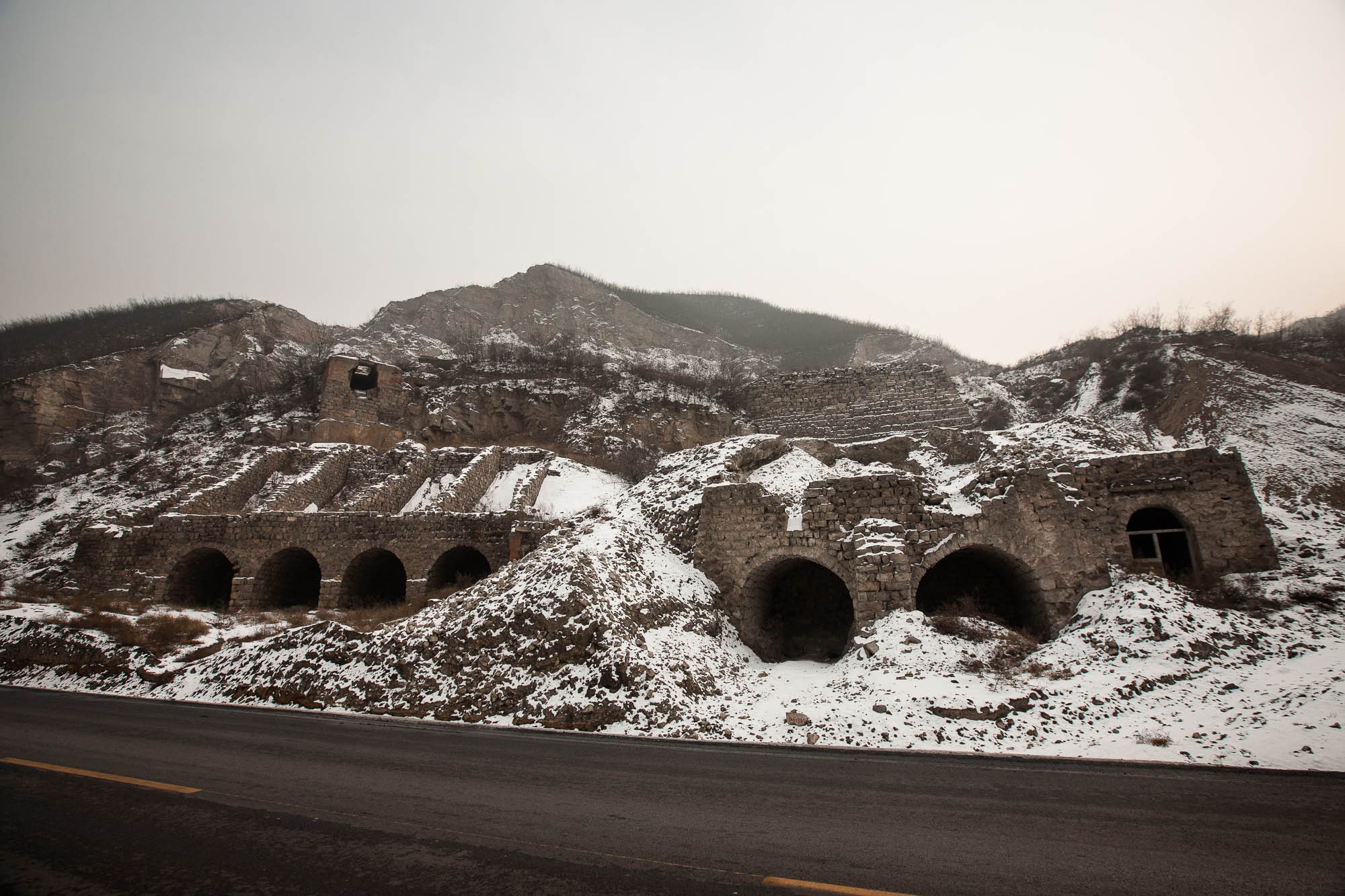caves in Shanxi
