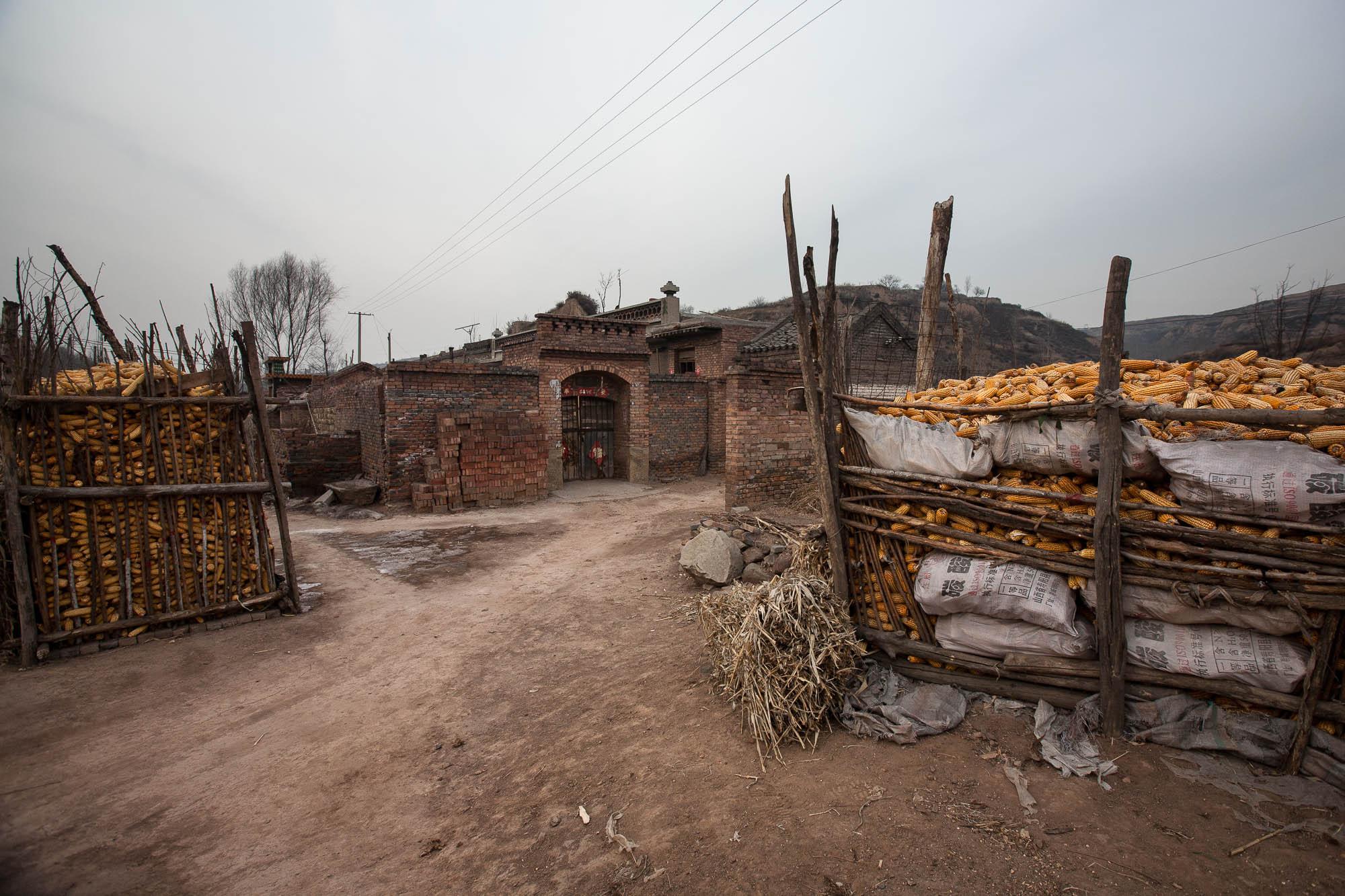 village near Shouyang