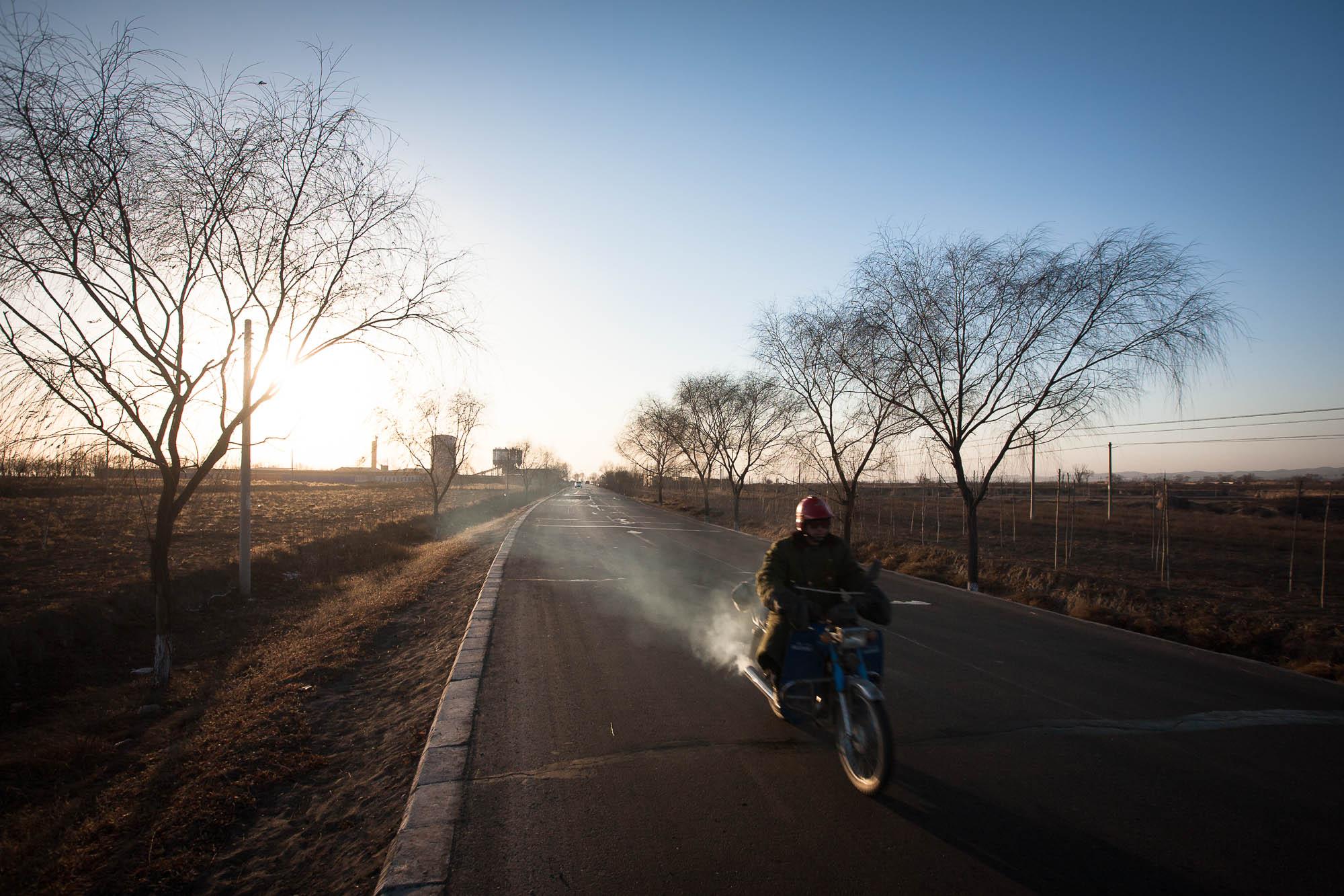 biker in Shanxi