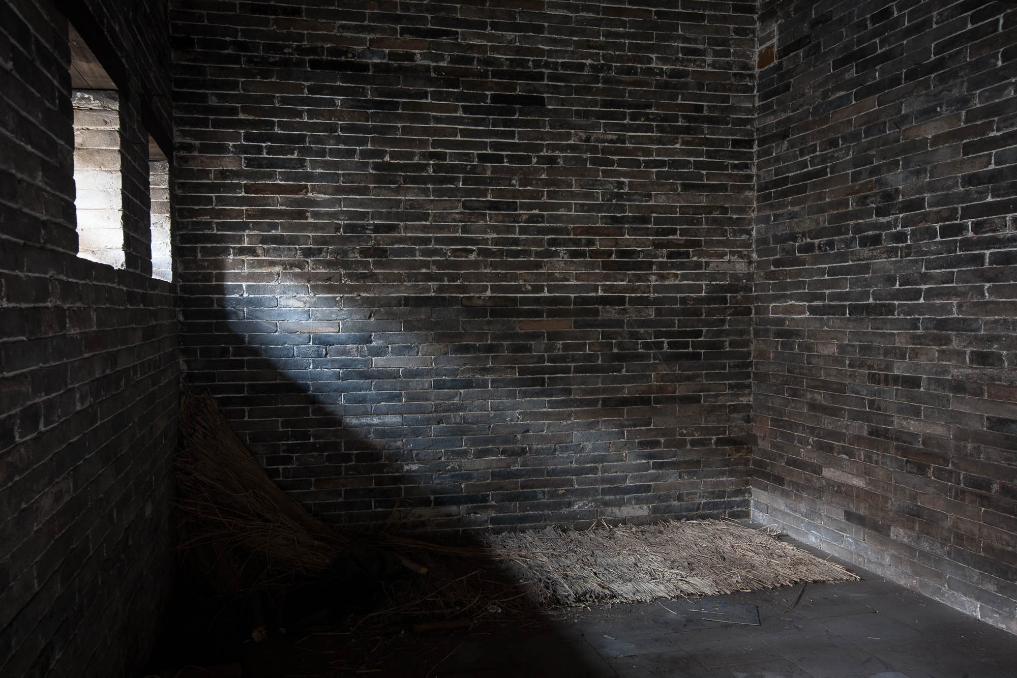 ancient prison cell