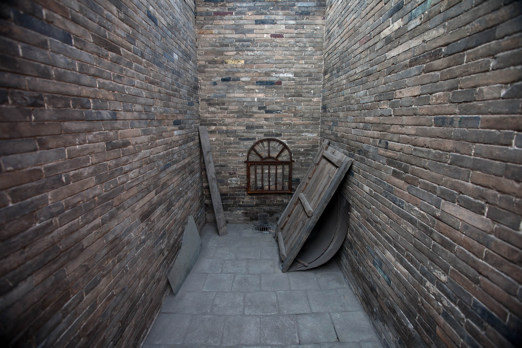 exit of the ancient prison