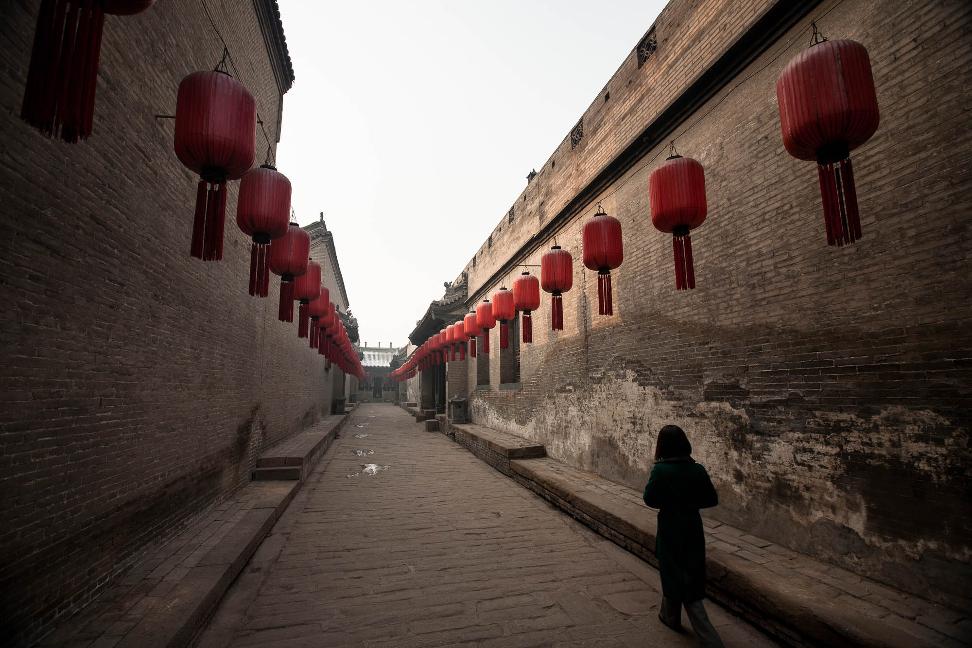 Qiao Family Mansion street