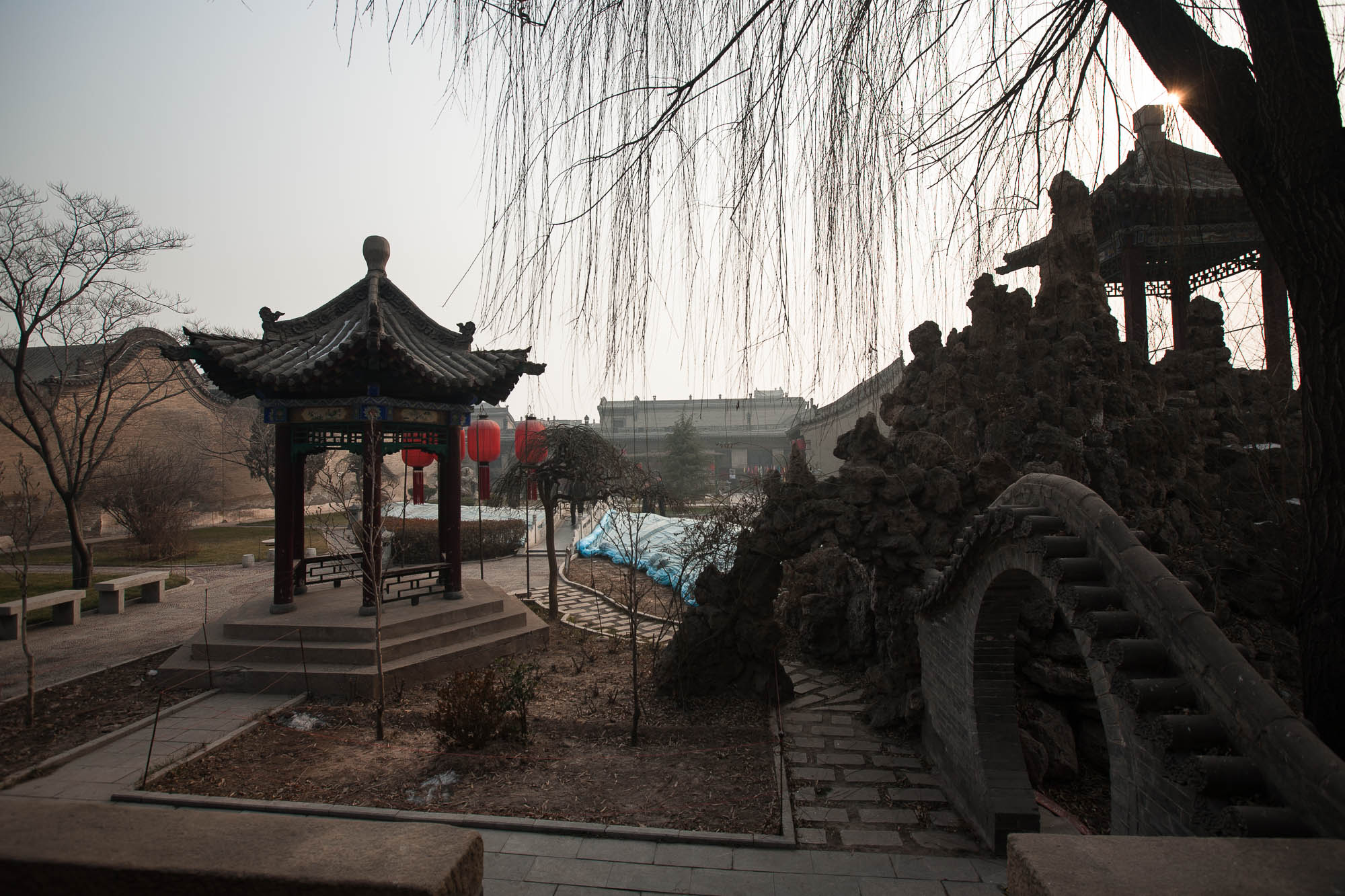 Qiao Family Mansion park