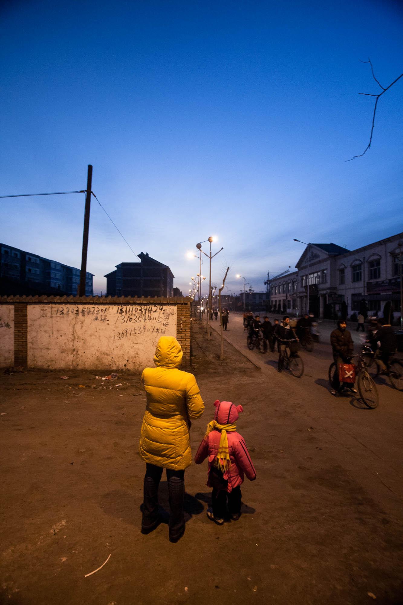 Jiexiu at night
