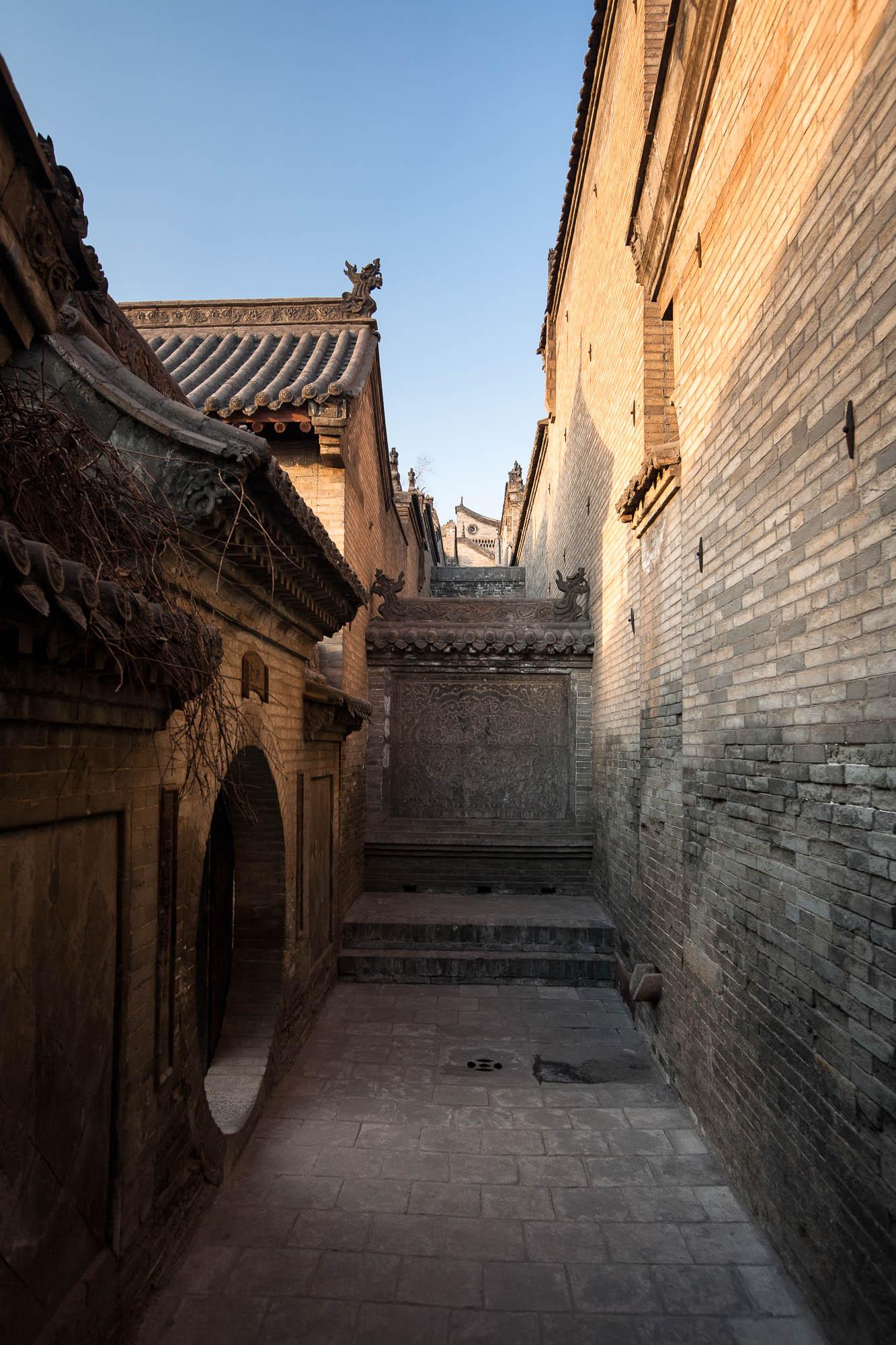 Wang Family Courtyard doorway