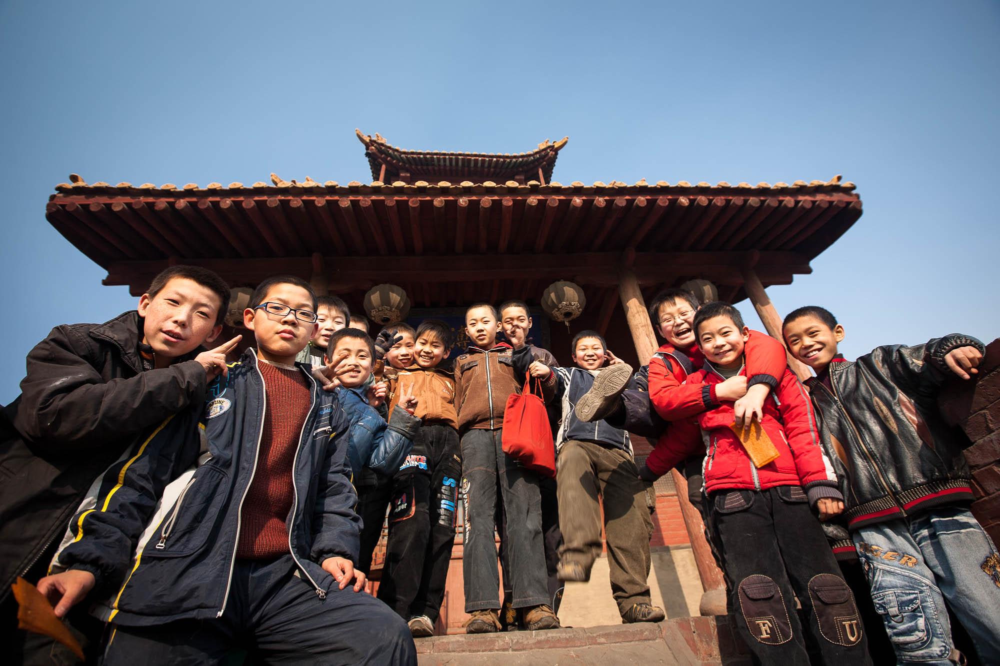 kids in Jingsheng