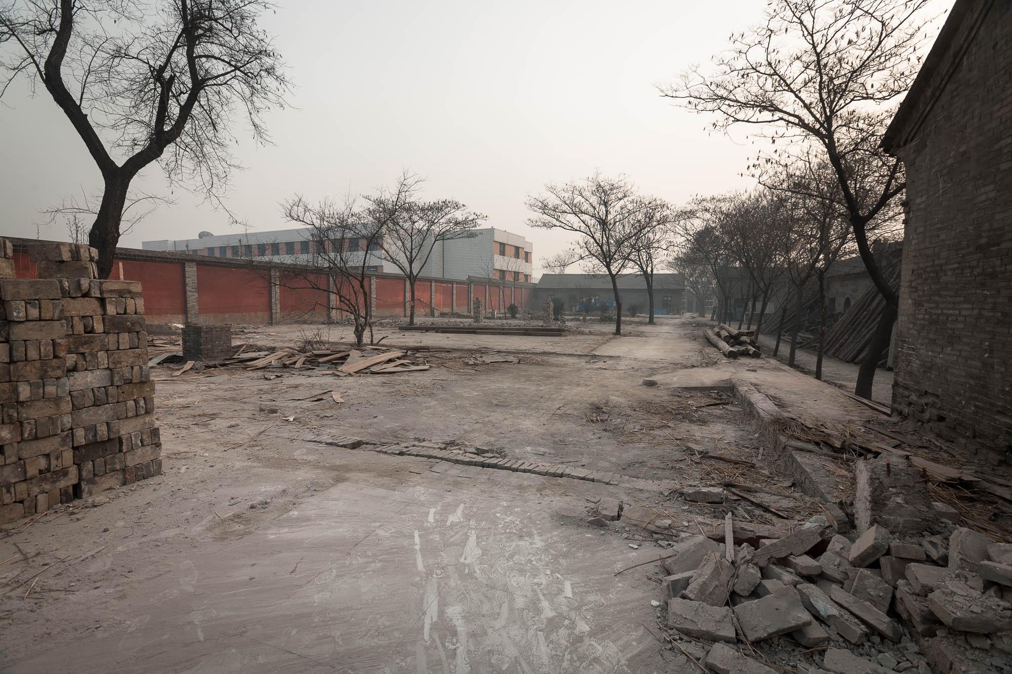 Huozhoushu construction