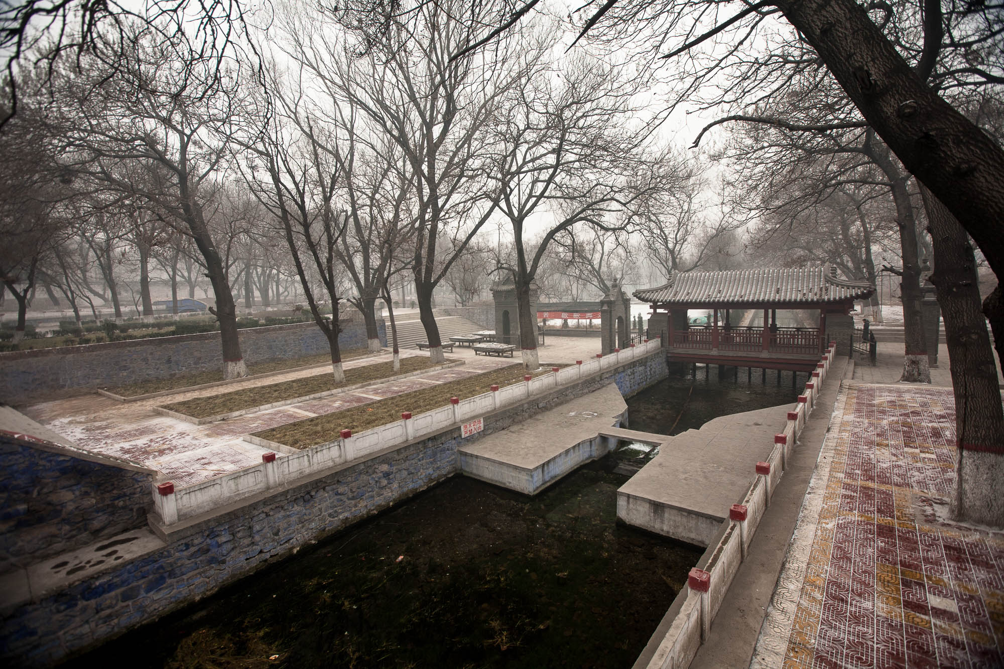 park near Guangsheng Temple