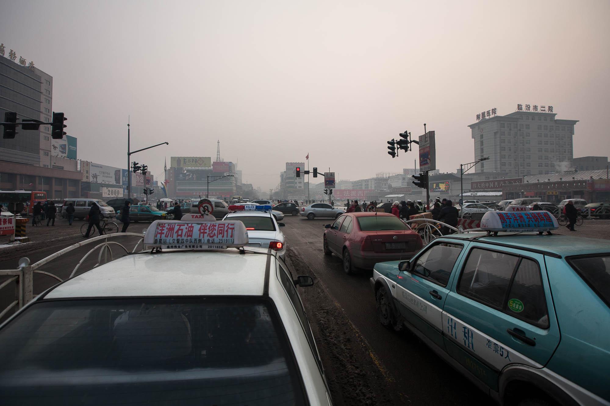 Linfen traffic