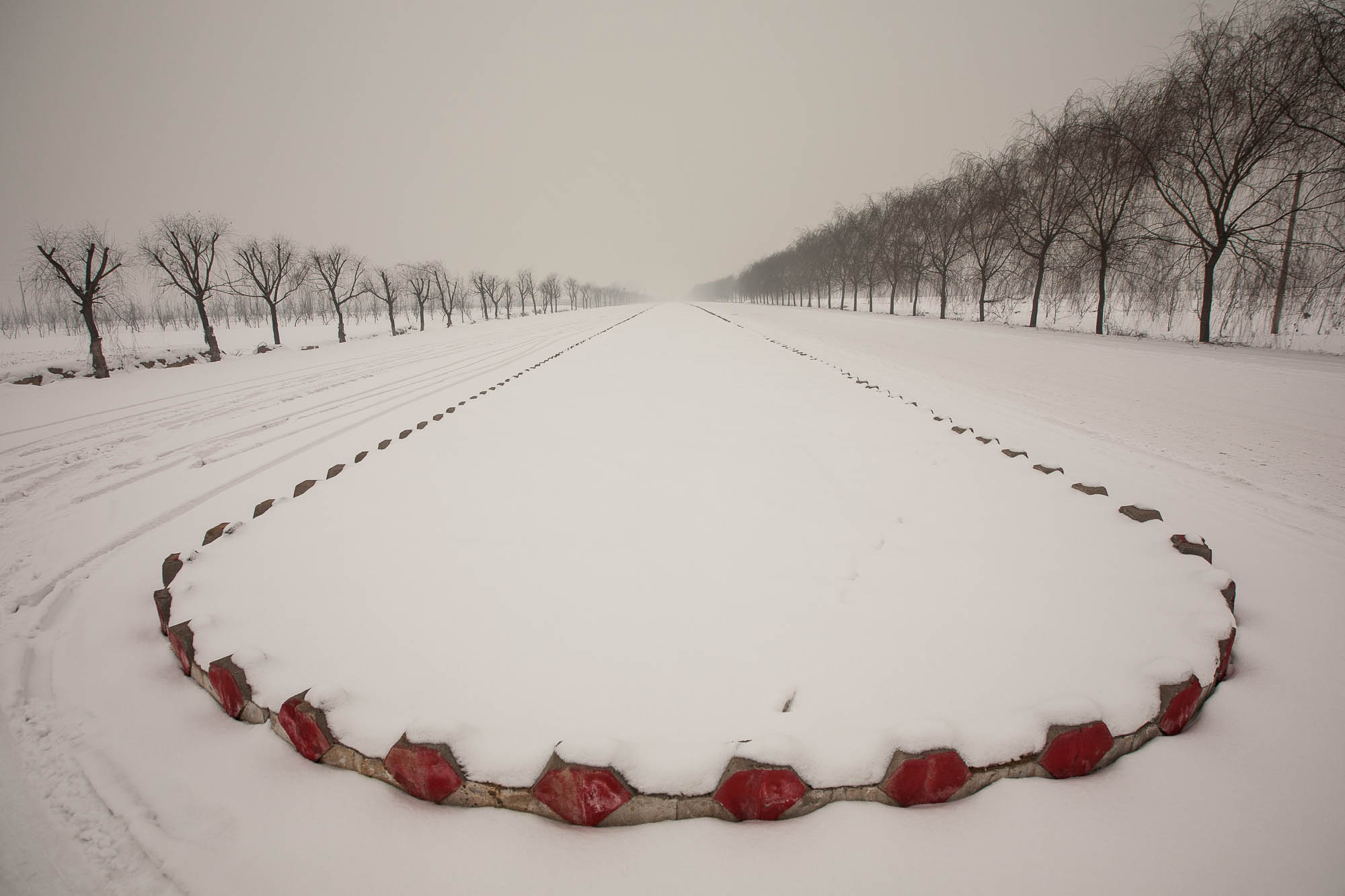 snow in Shanxi
