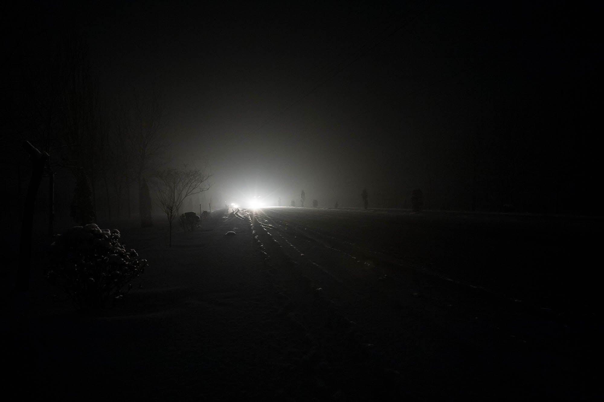 nightwalking in Shanxi
