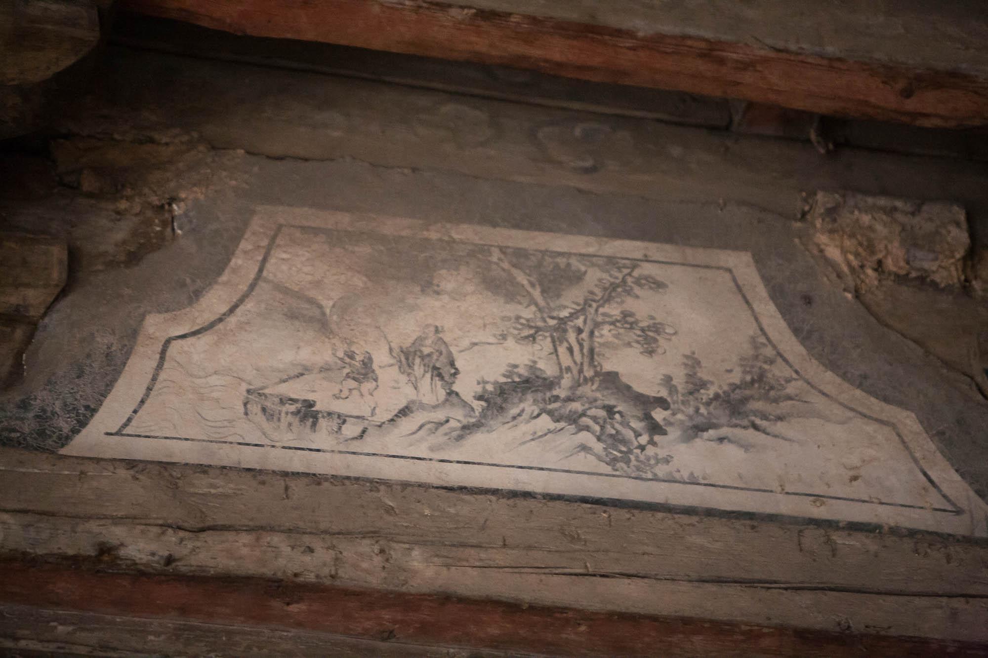 detail in Jiangzhouwen Temple
