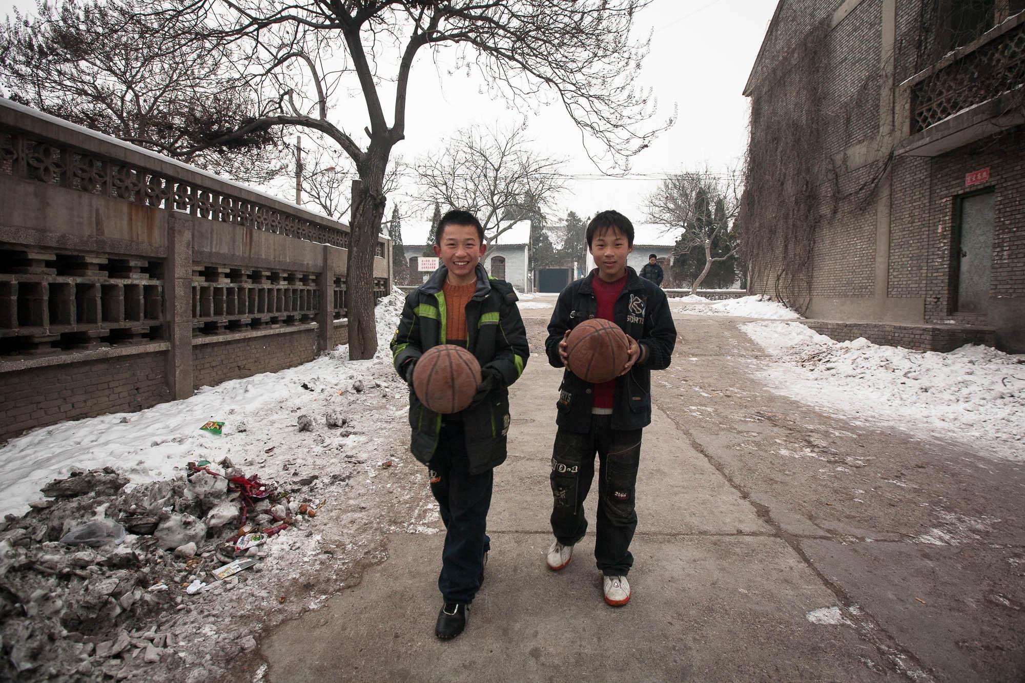 kids in Xinjiang