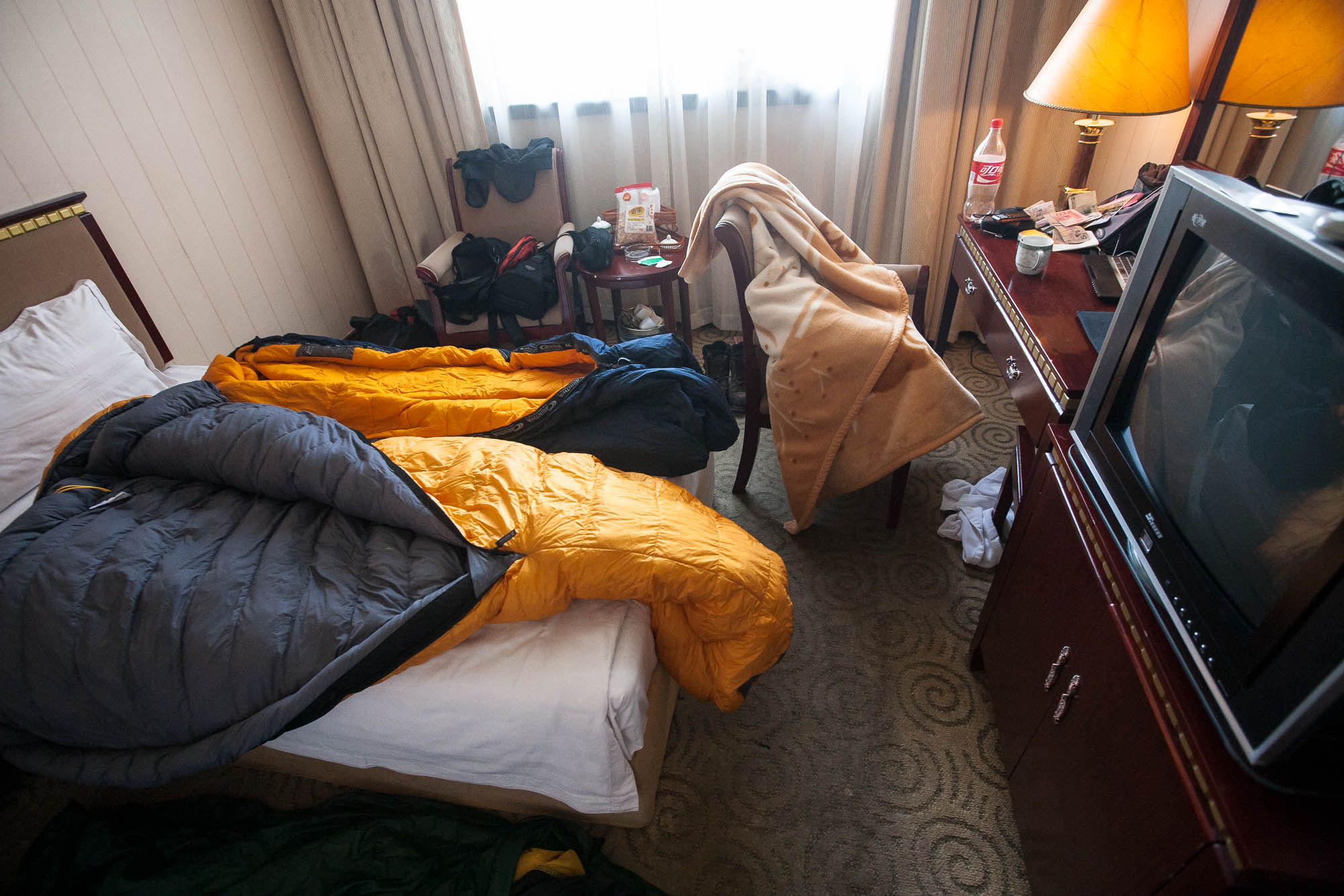hotel room in Linyi