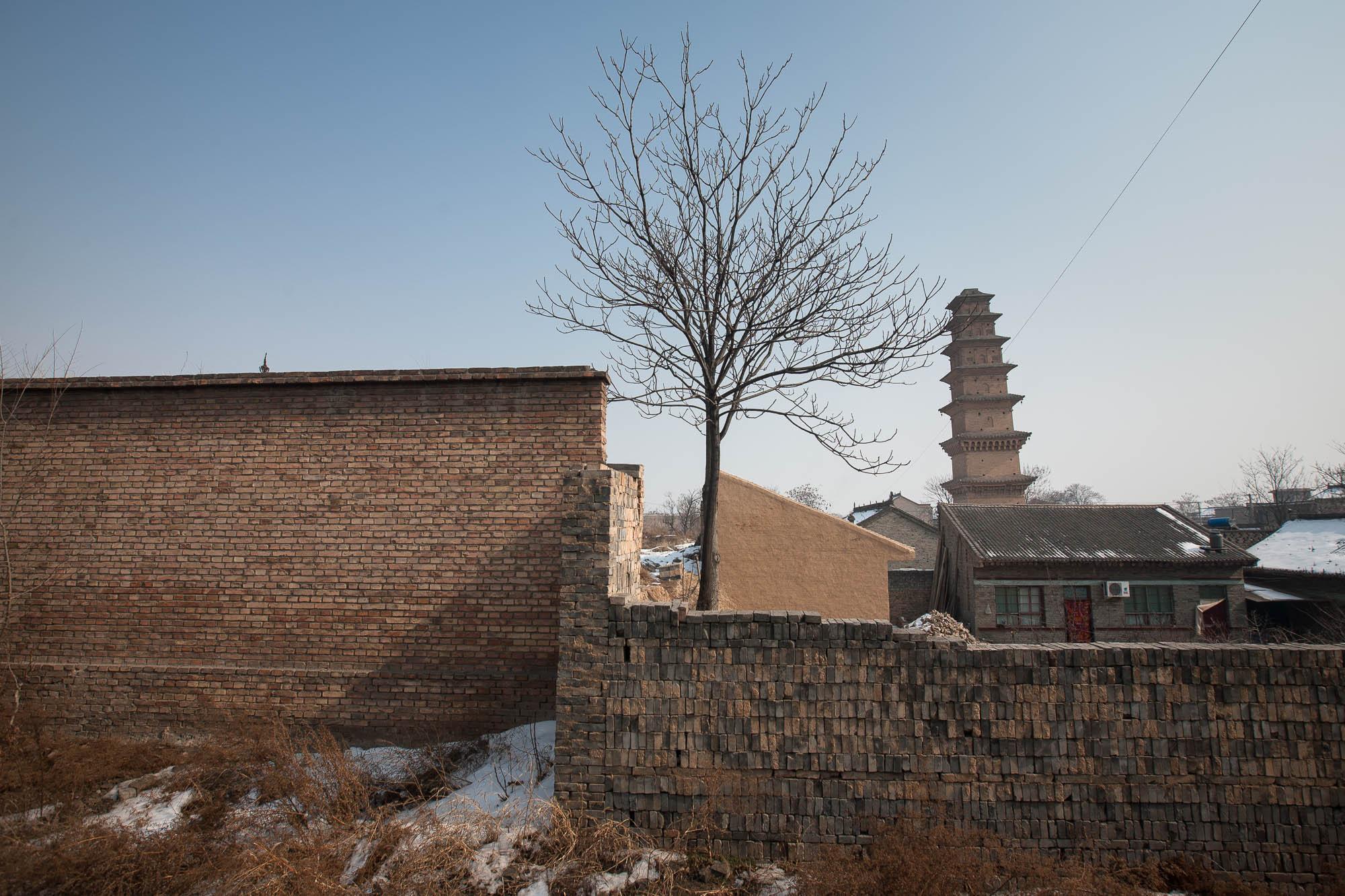 pagoda in Linyi