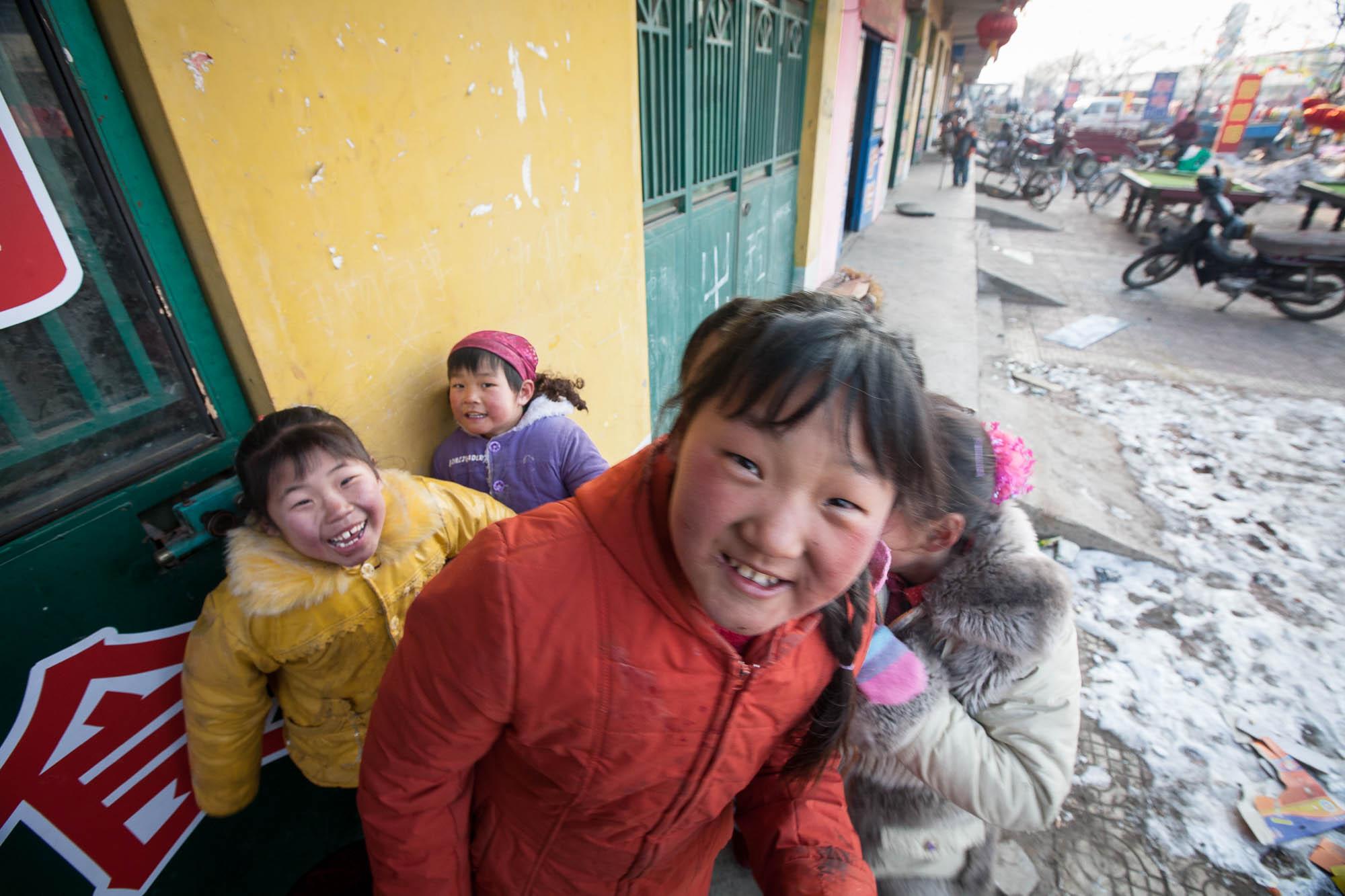 children in Linyi