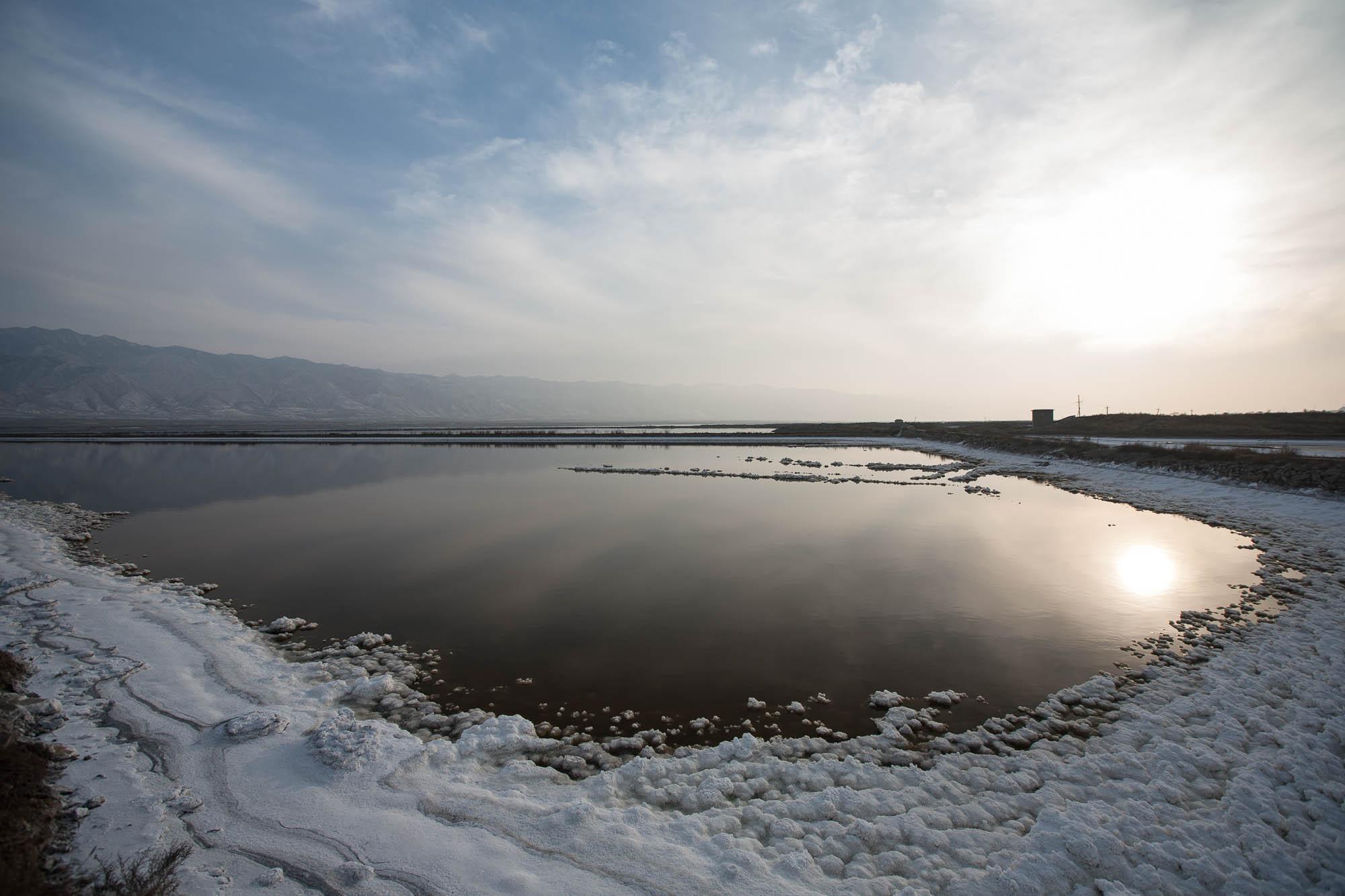 salt lake near Yuncheng