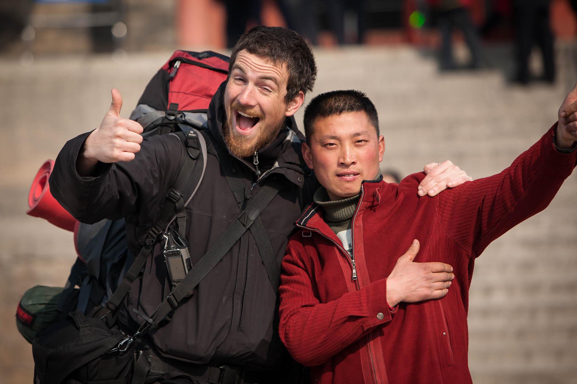 with Chang Haiqiang