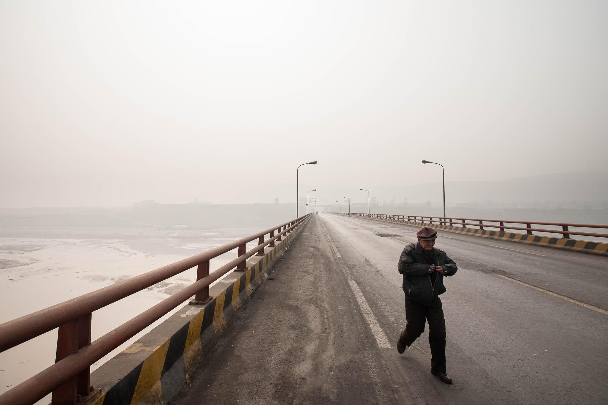 bridge across the Yellow River