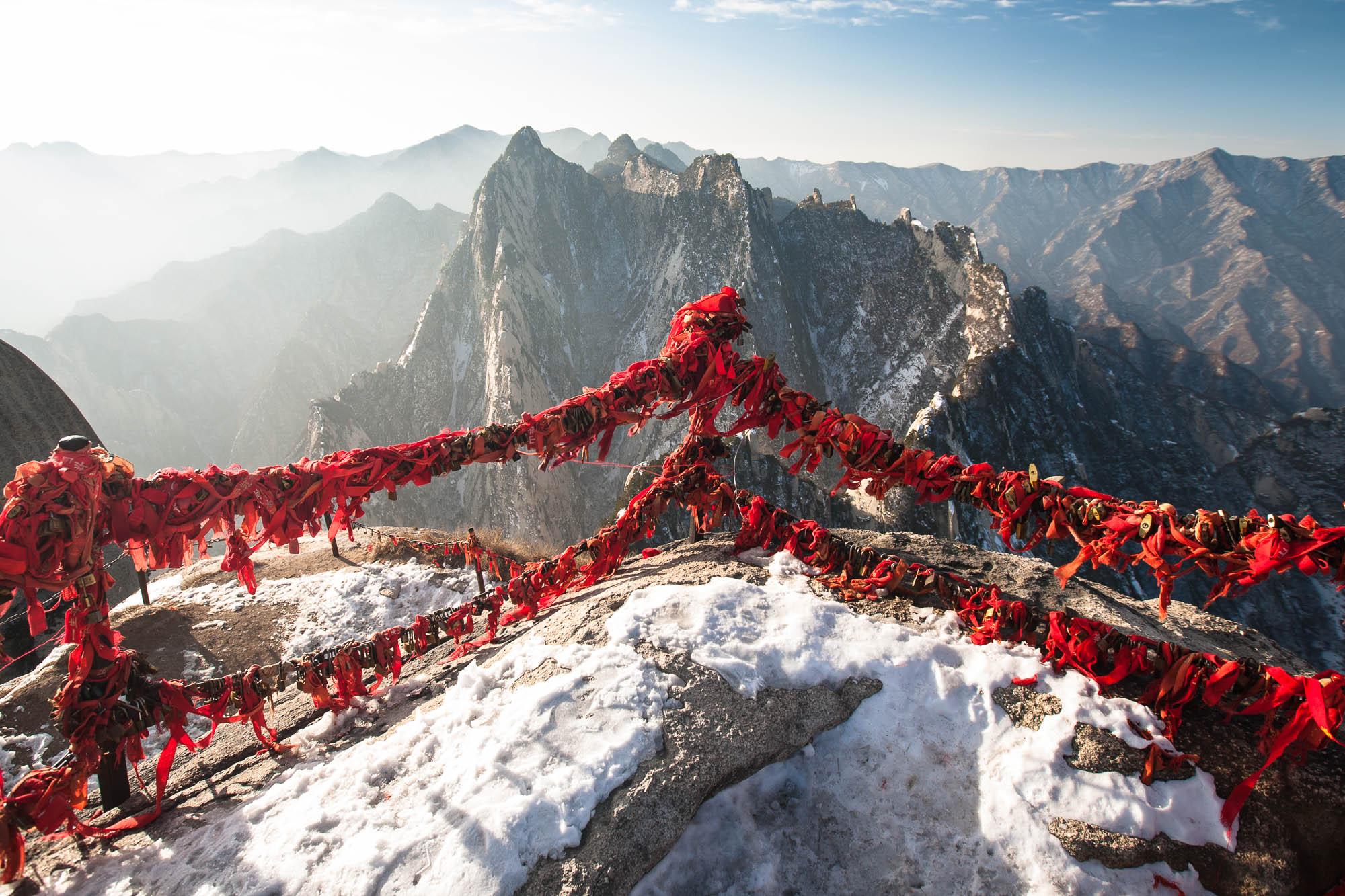 southern peak of Huashan
