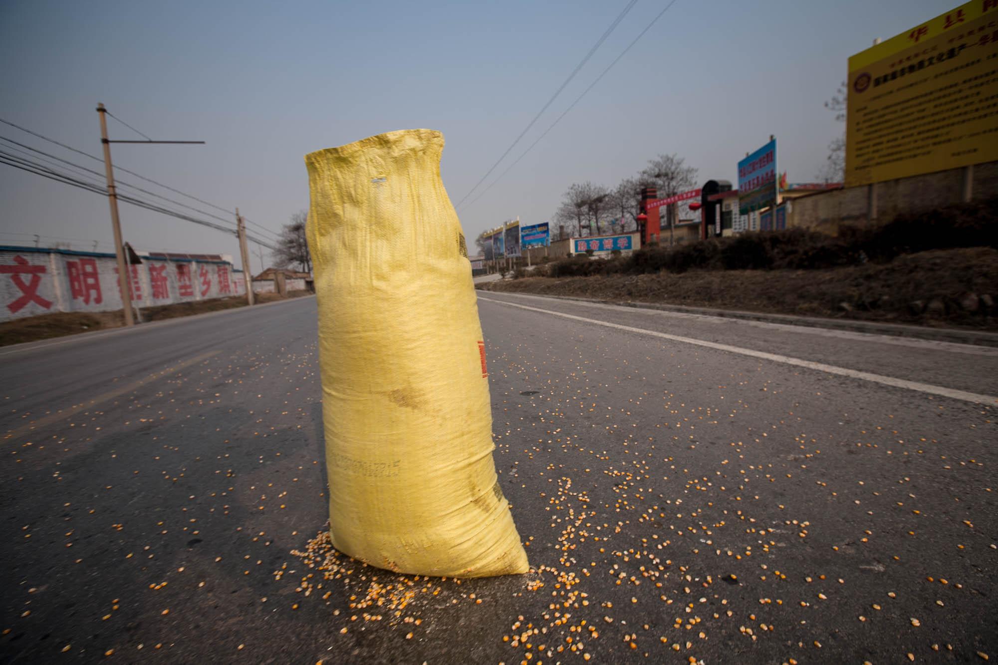 bag of corn