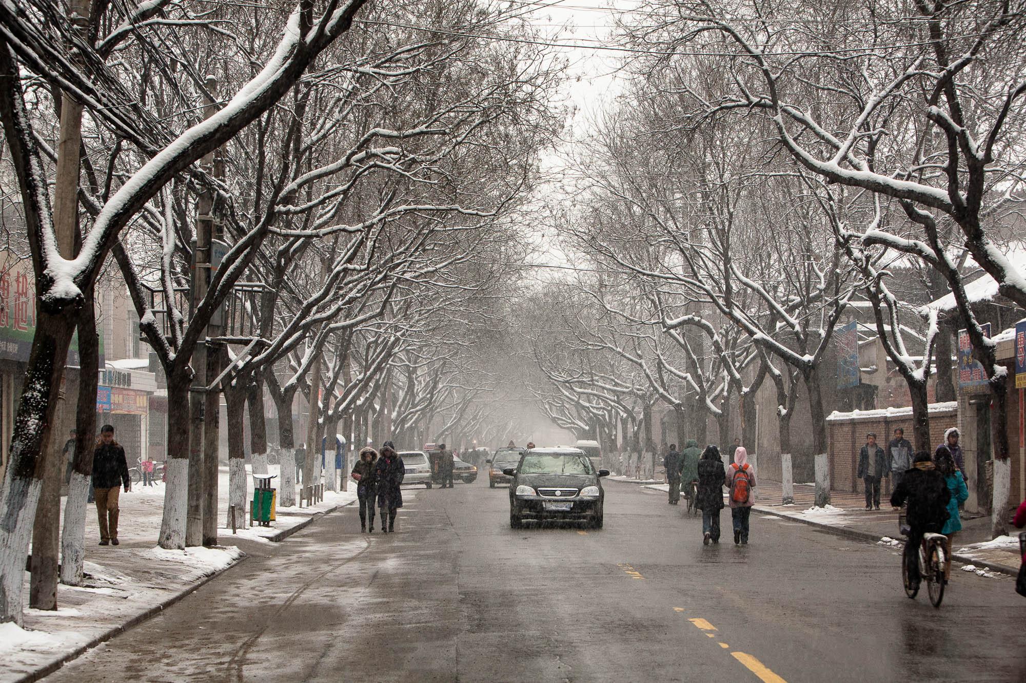 street in Weinan