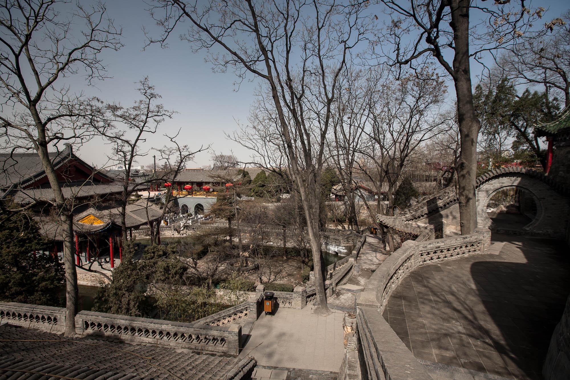 park of Huaqingchi