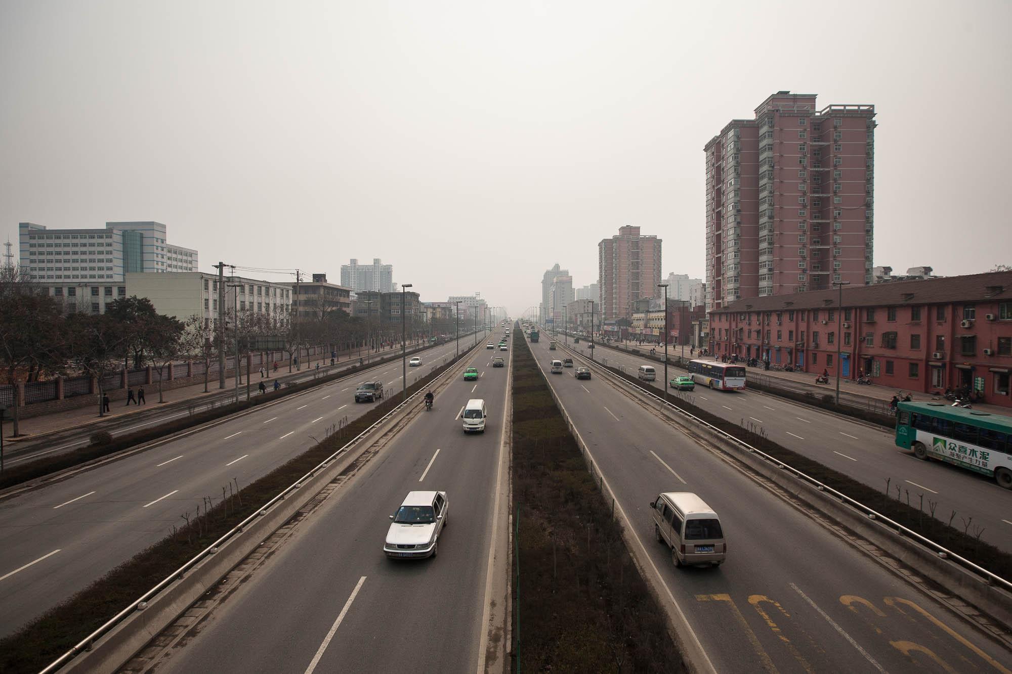 street in Xi'an