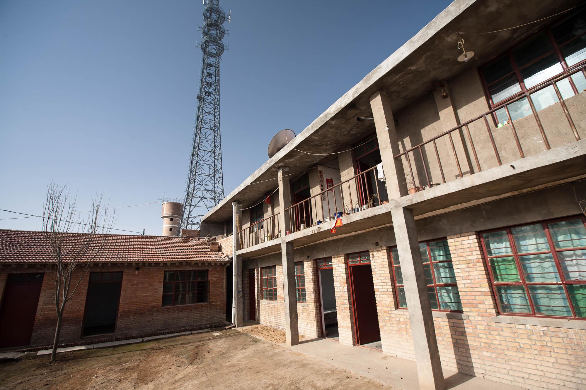 house in Gansu