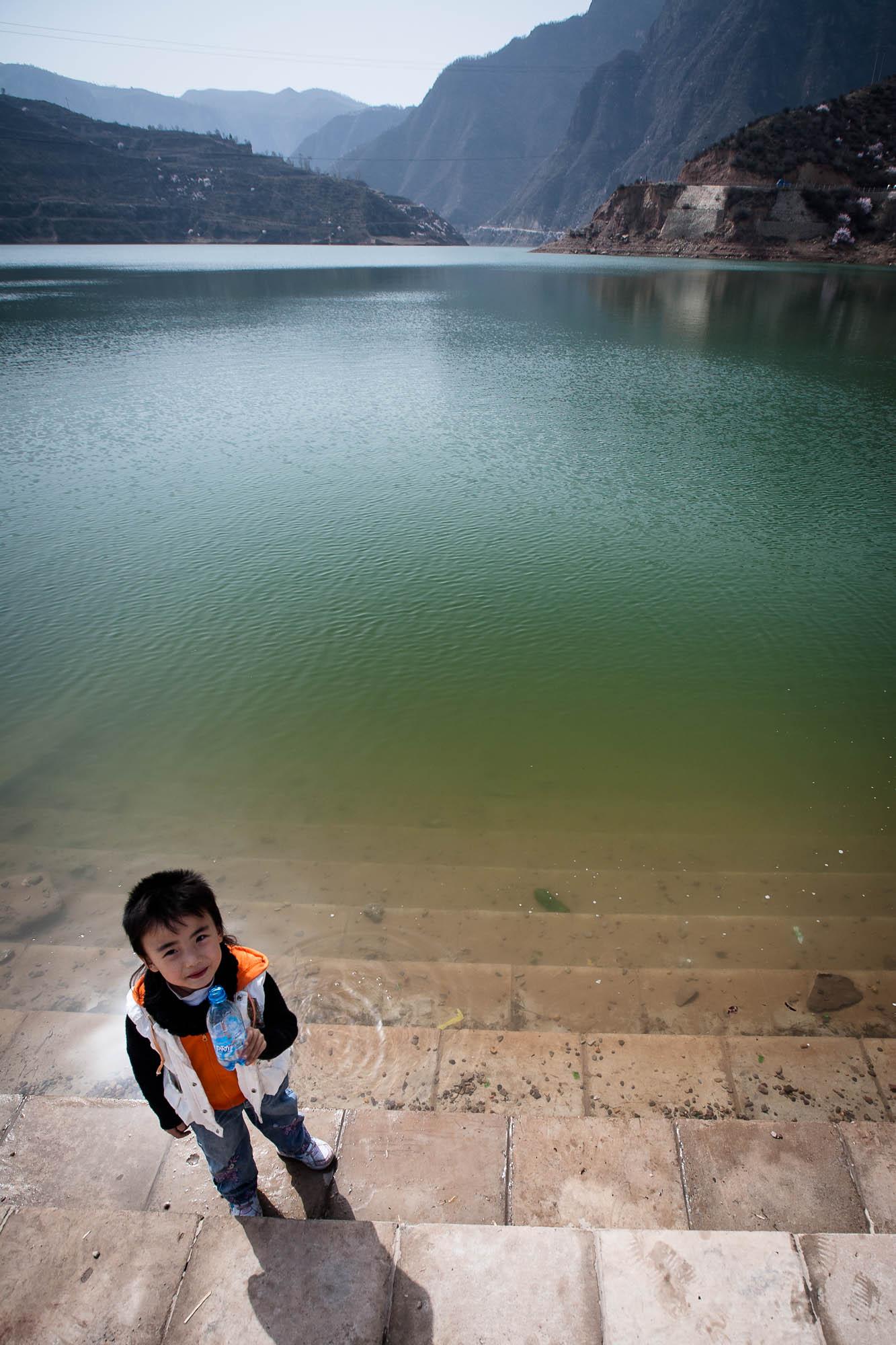 Keke at the reservoir