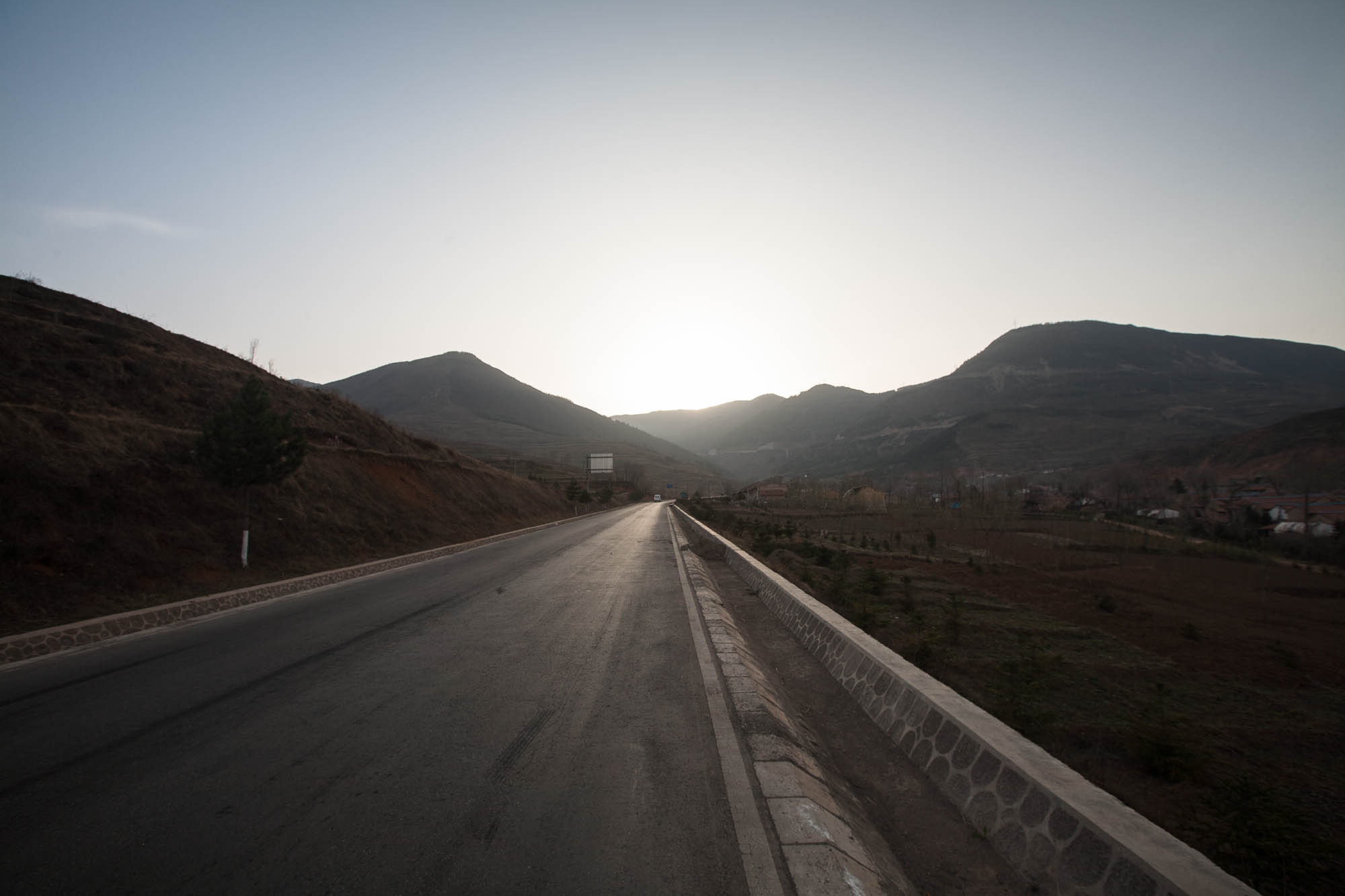 road up the mountain
