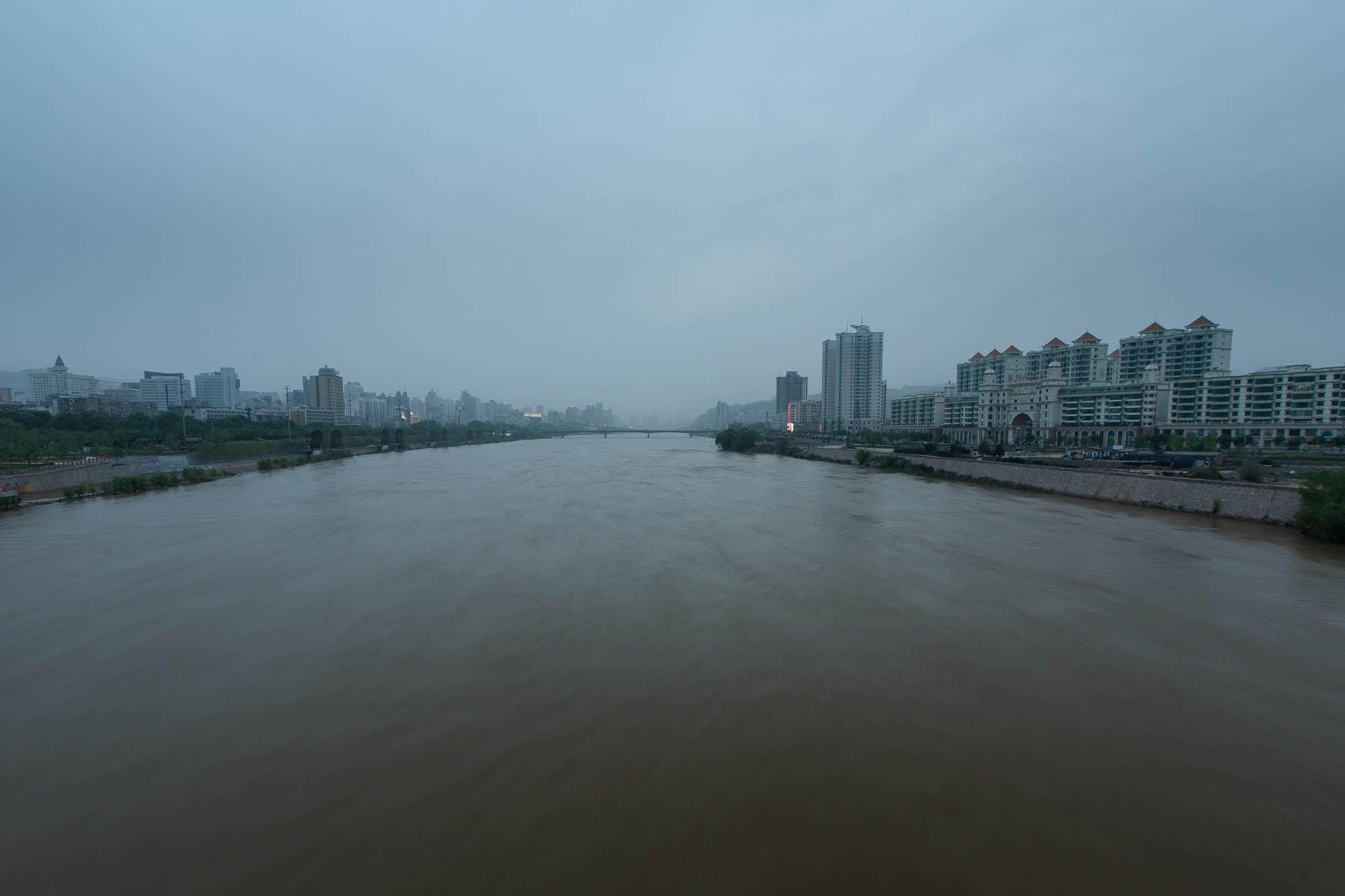 Yellow River in Lanzhou