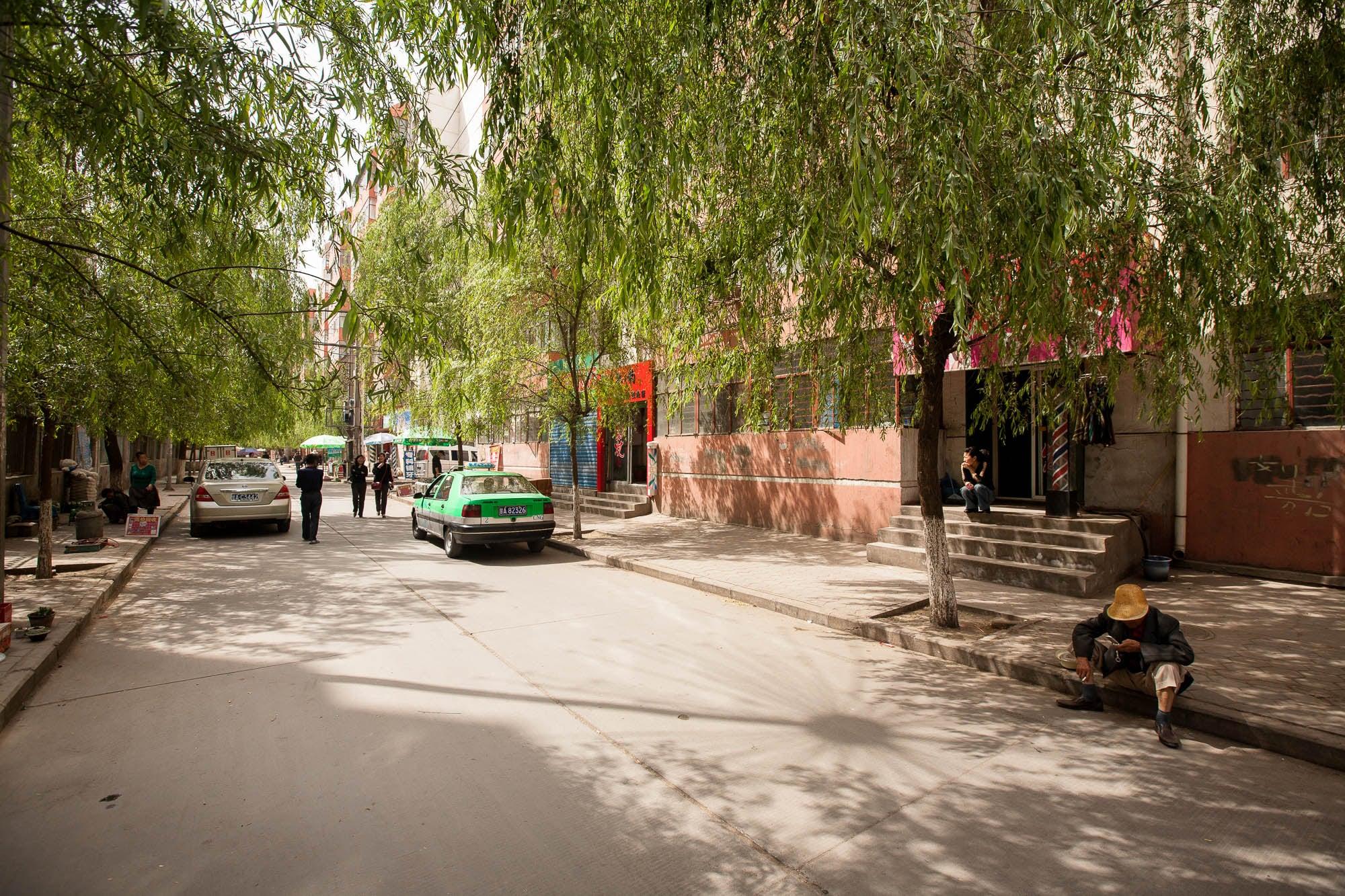 Lanzhou street