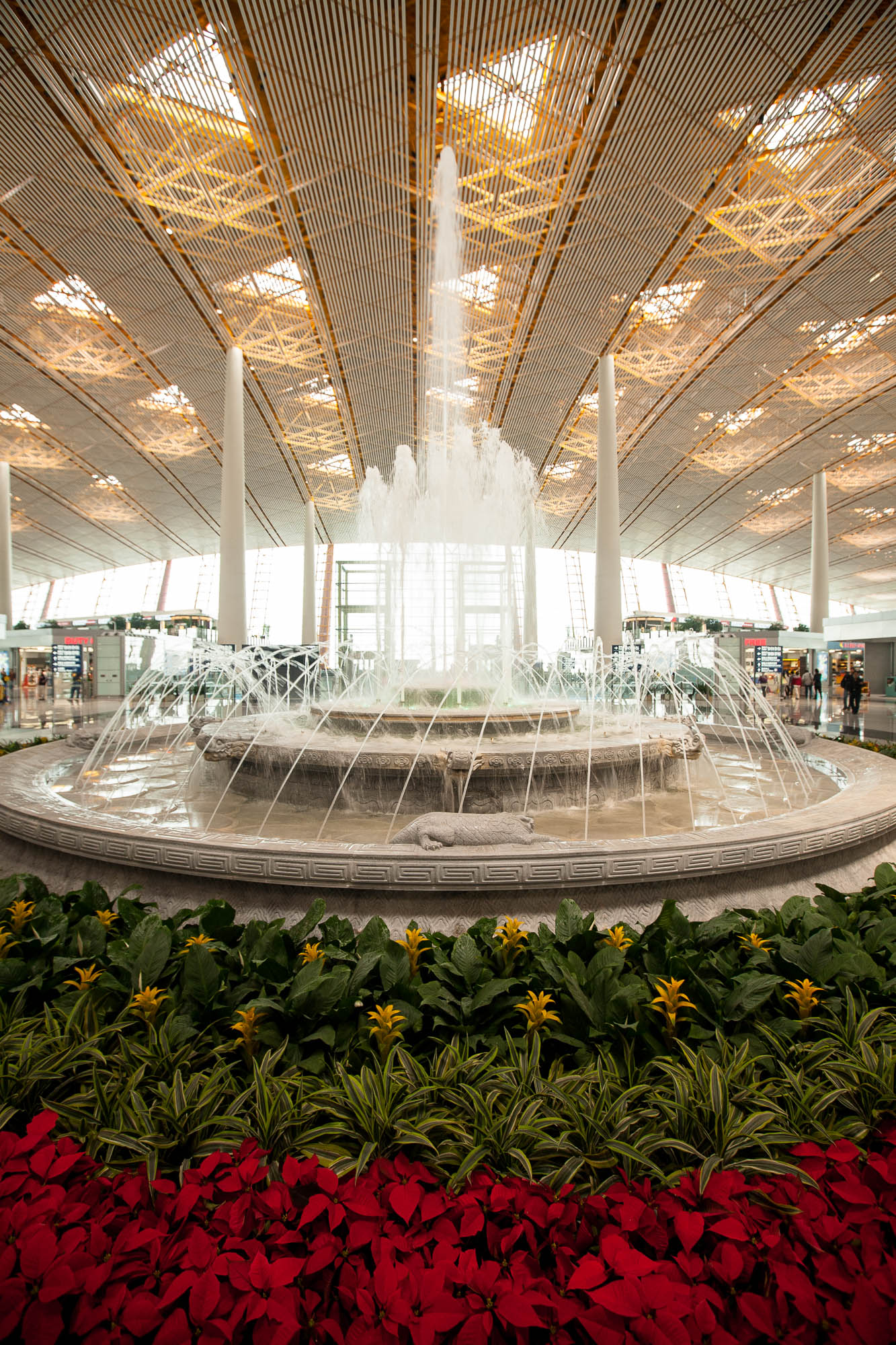 fountain in T3