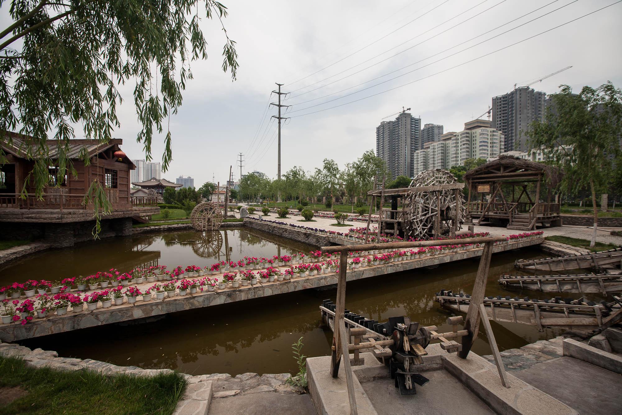Lanzhou Waterwheel Exhibition Park