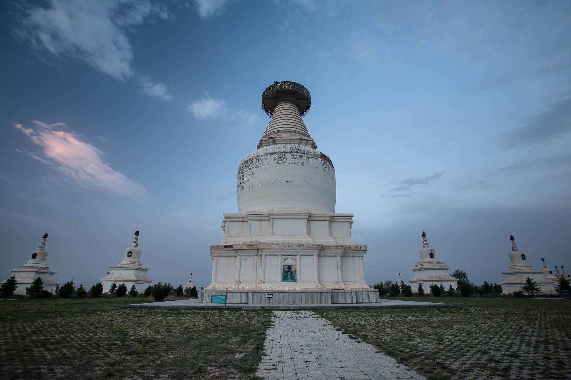 White Pagodas of Wuwei