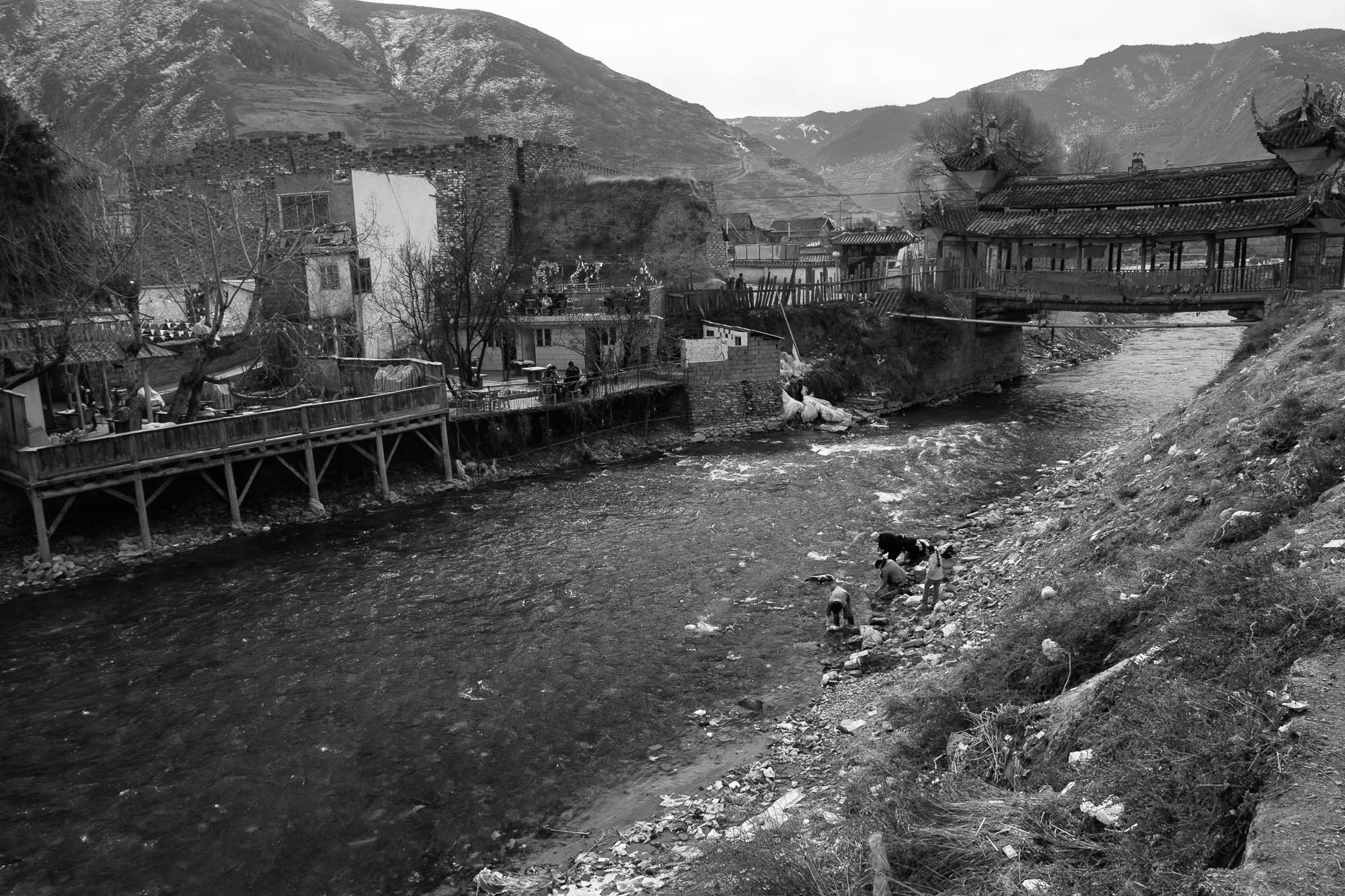Sichuan 2006 river
