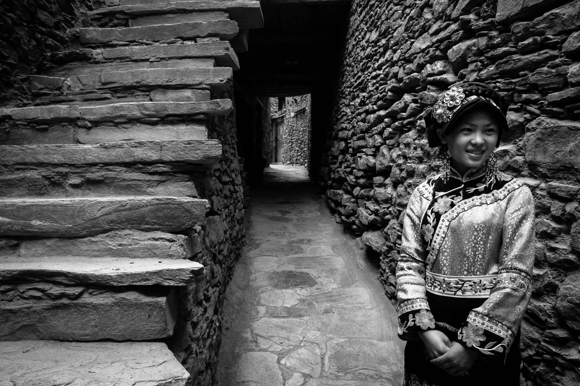 Sichuan 2006 girl