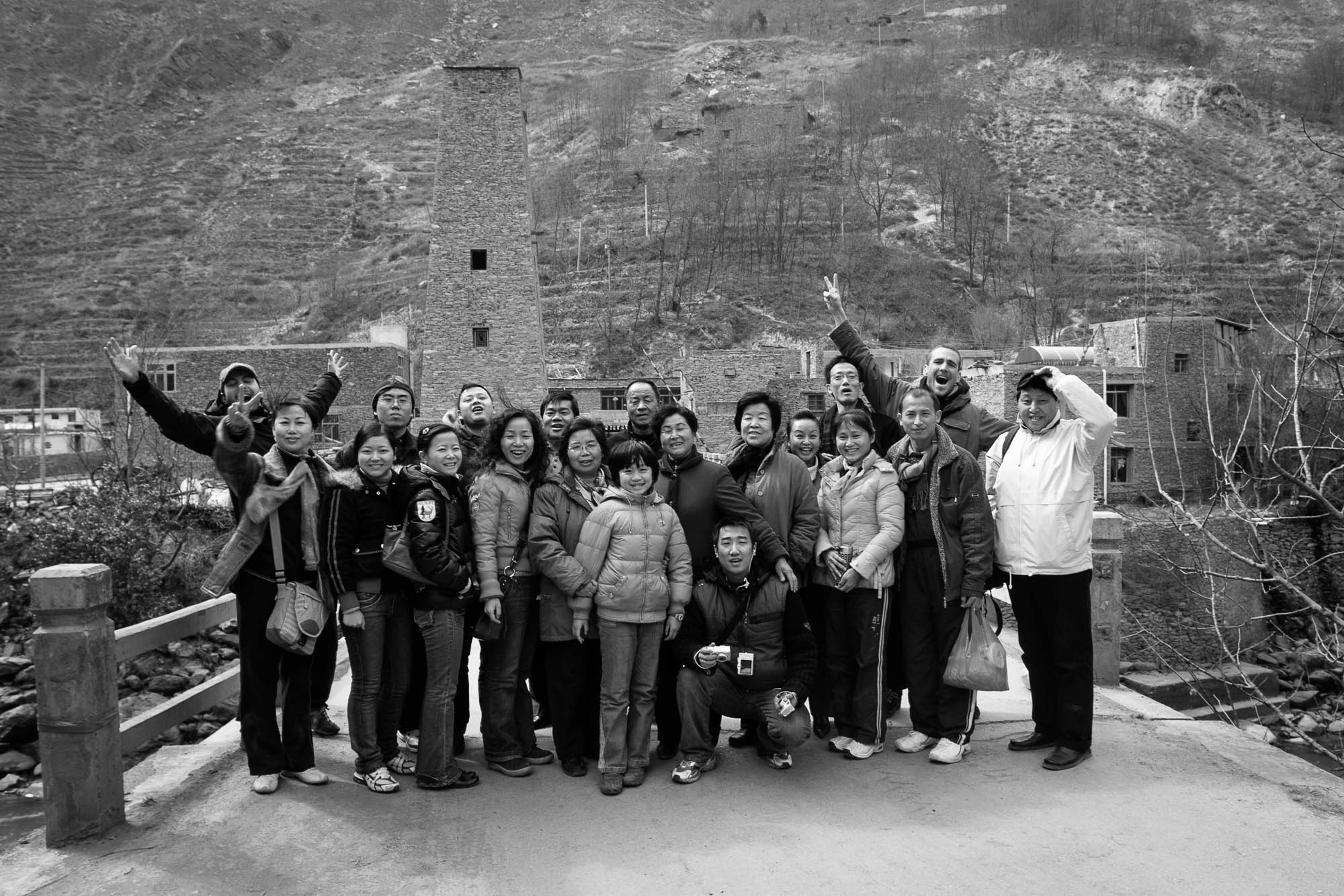Sichuan 2006 group photo