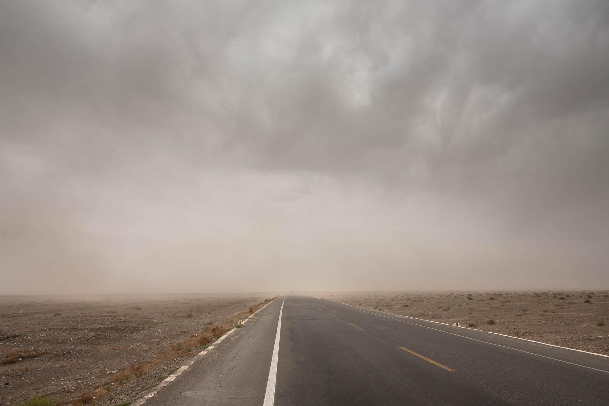 dust storm clouds