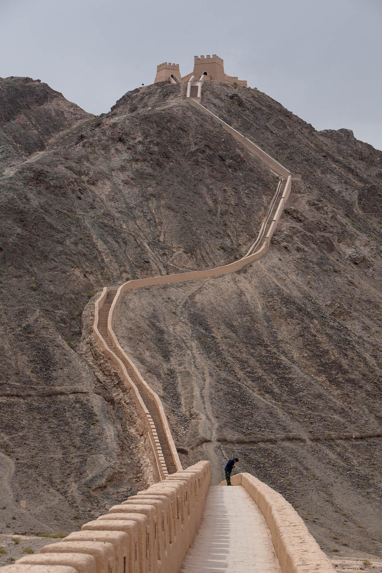 restored Great Wall
