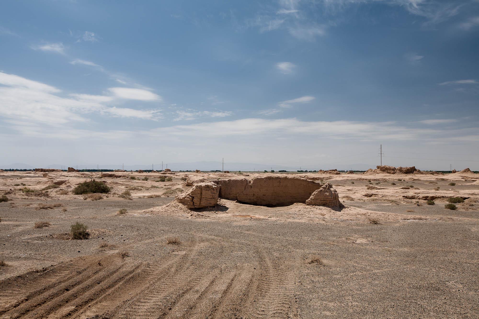 ruin in the desert