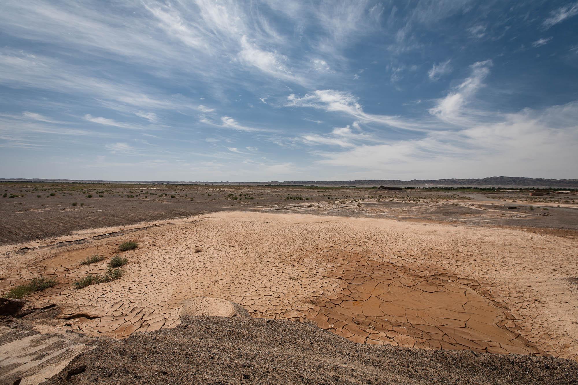 dry spot