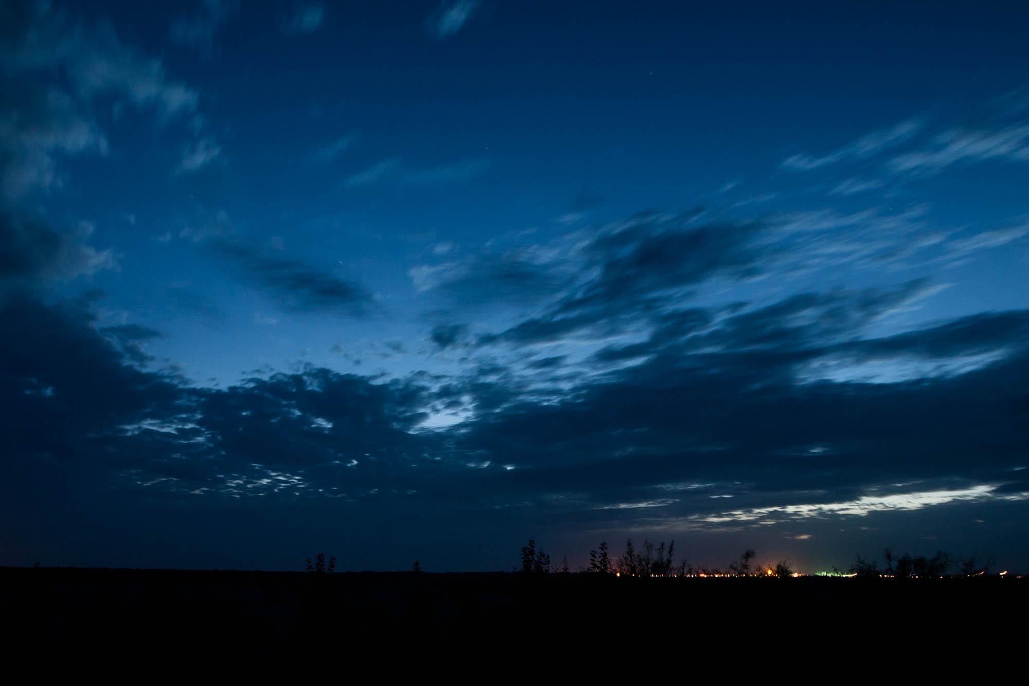 sky over Anxi